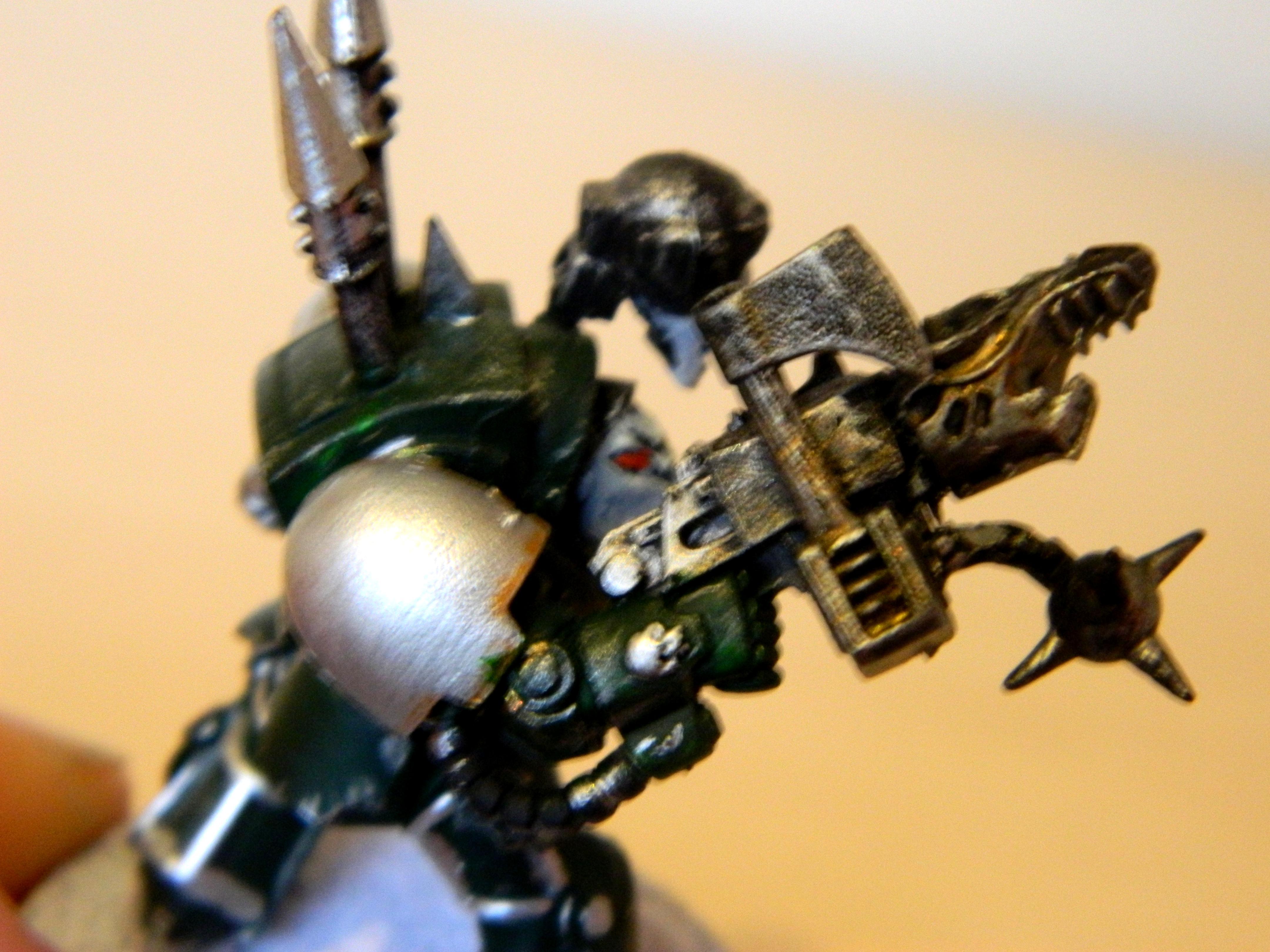 Alpha, Chaos, Chaos Space Marines, Conversion, Terminator Armor, Warhammer 40,000