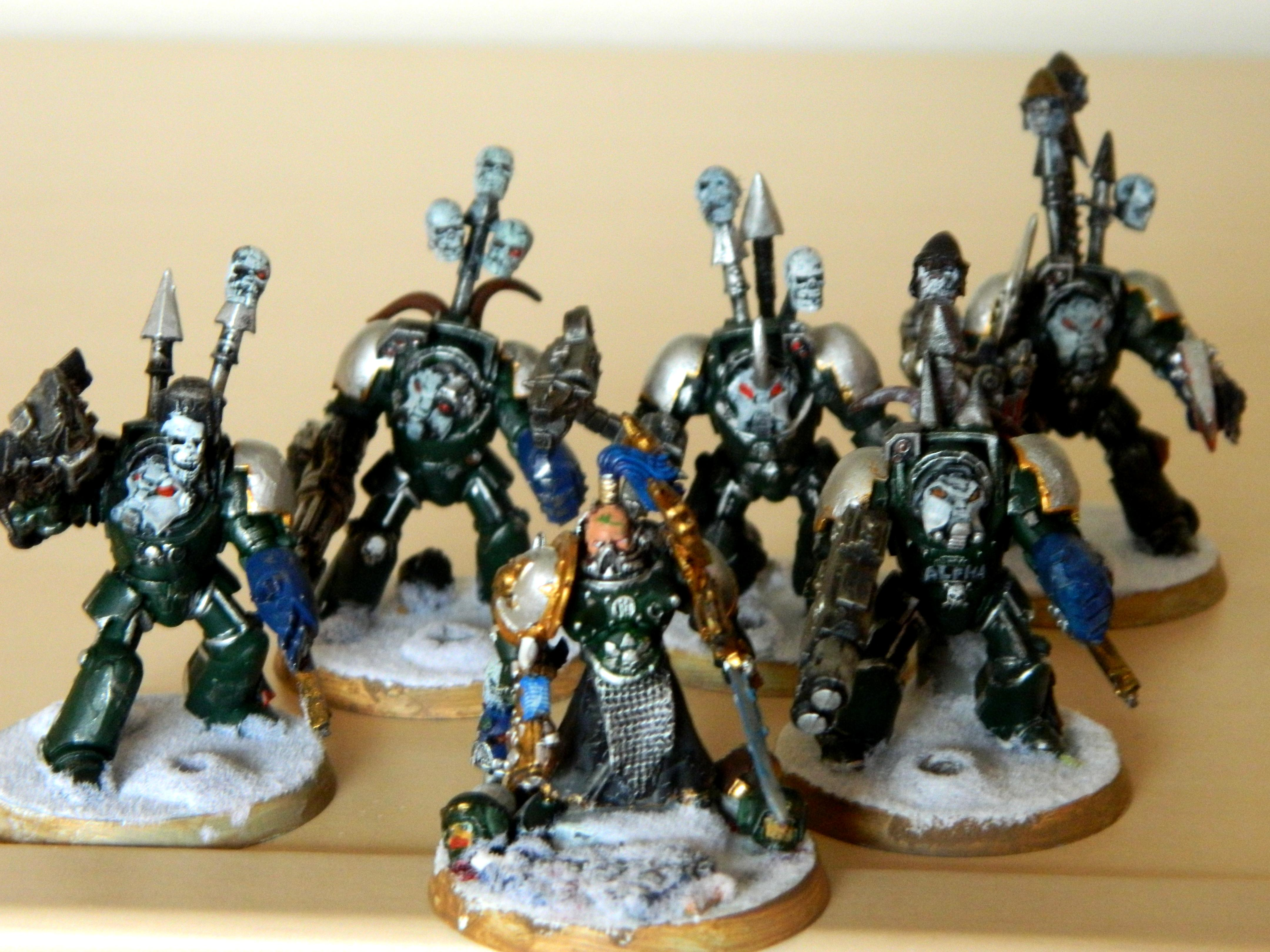 Alpha Legion, Chaos Space Marines, Lord And Retinue