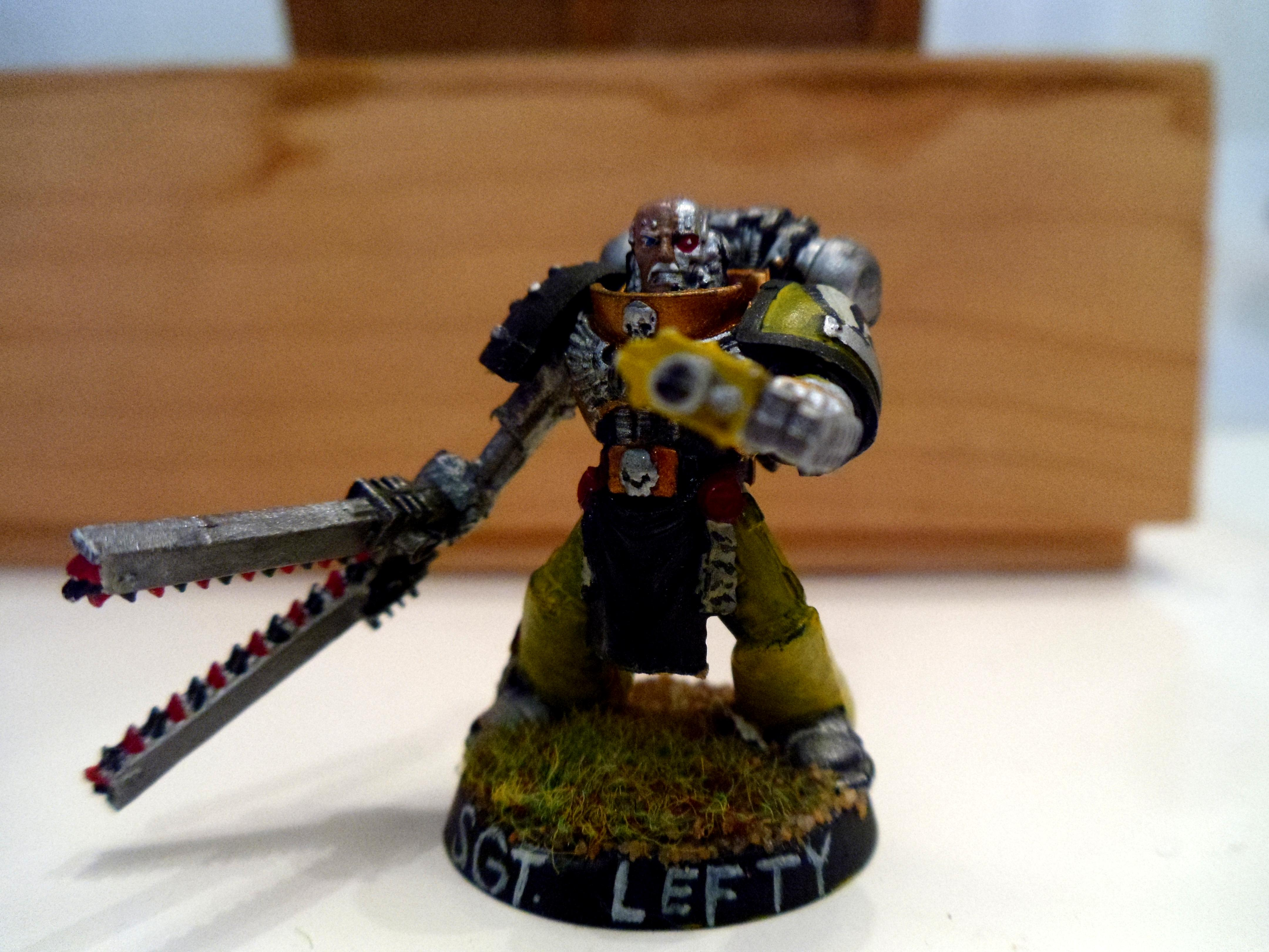 Sgt Lefty