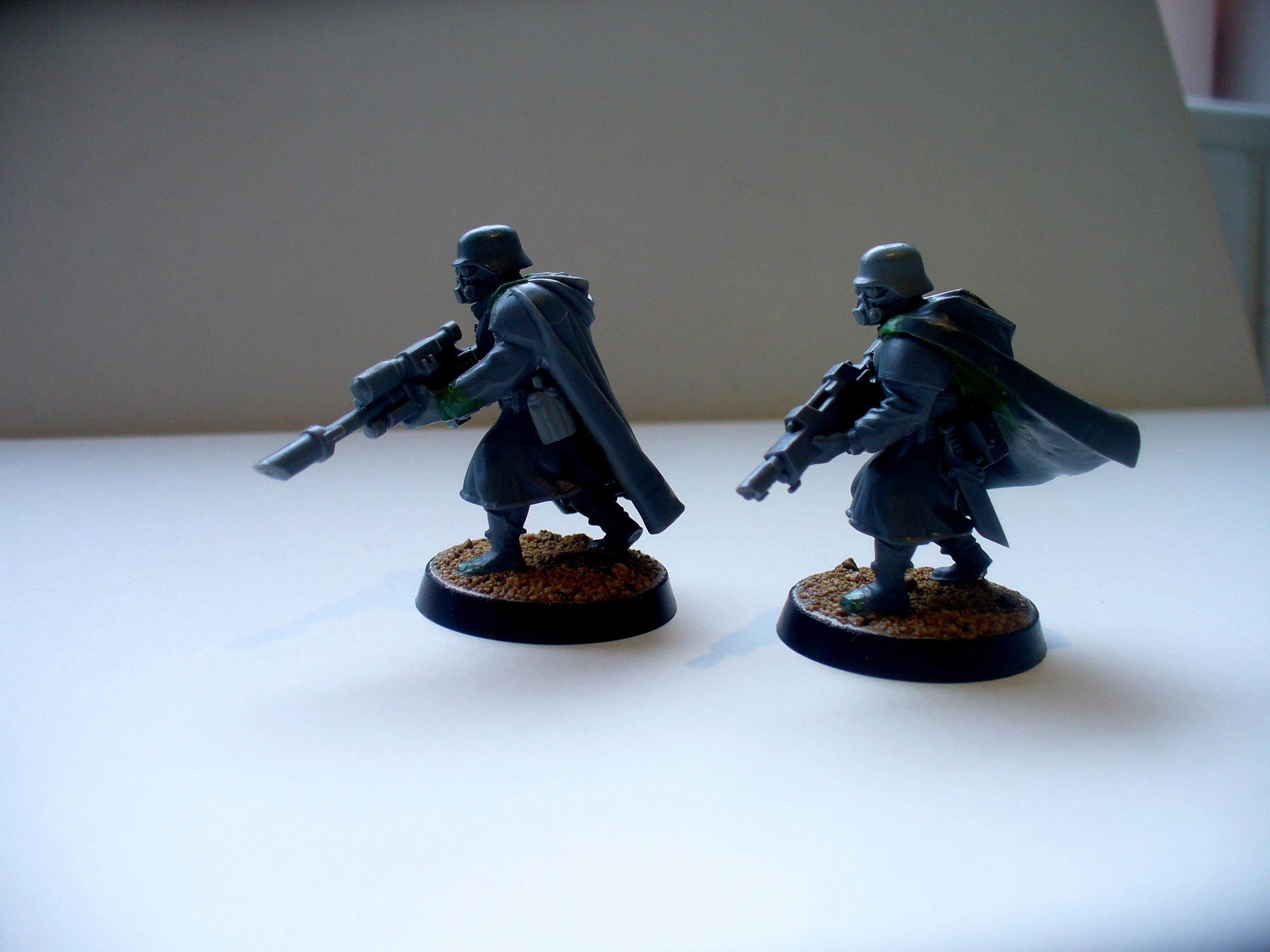 Conversion, Greatcoats, Imperial Guard, Wargames Factory
