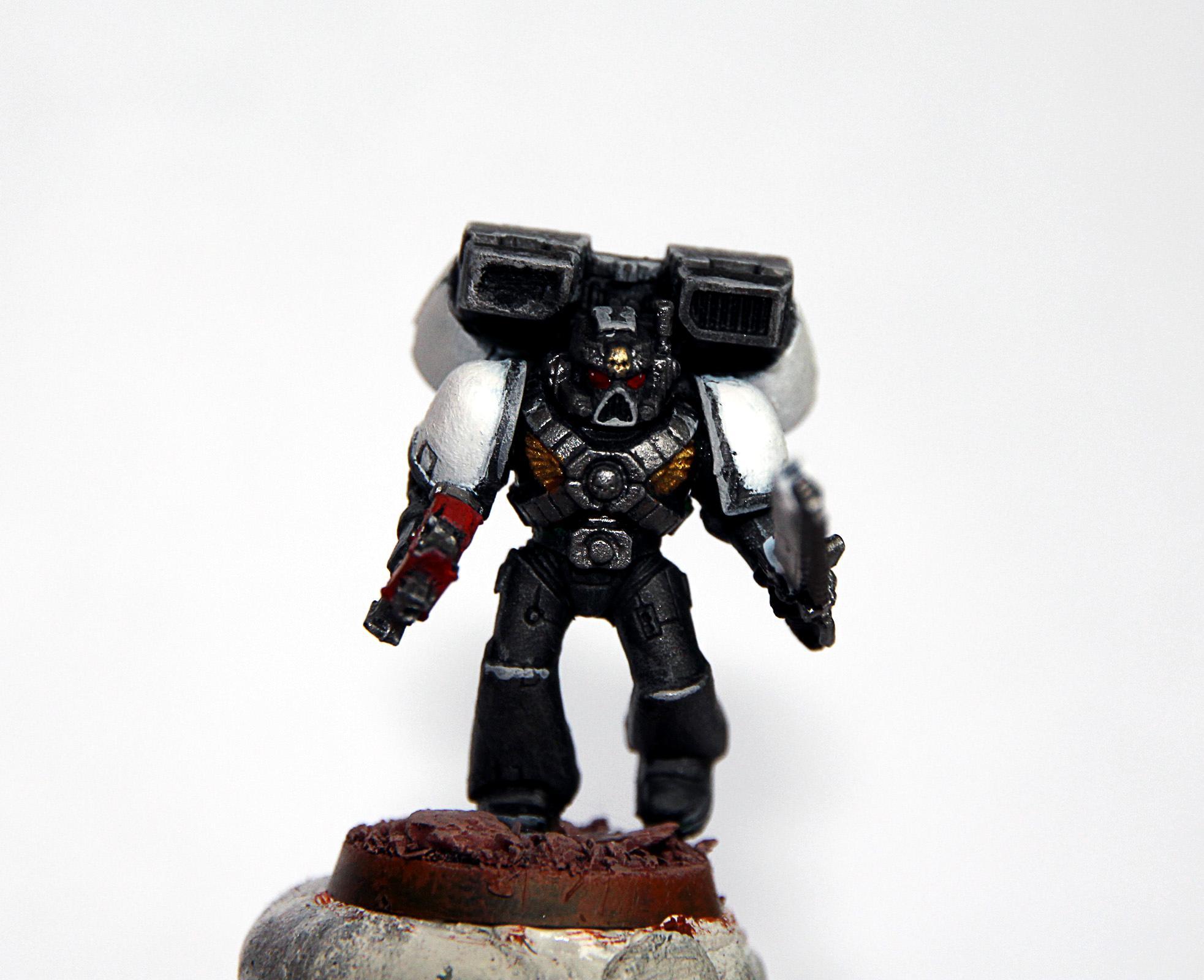 Assault Marines, Black Templars, Space Marines, Test Figure, Warhammer 40,000