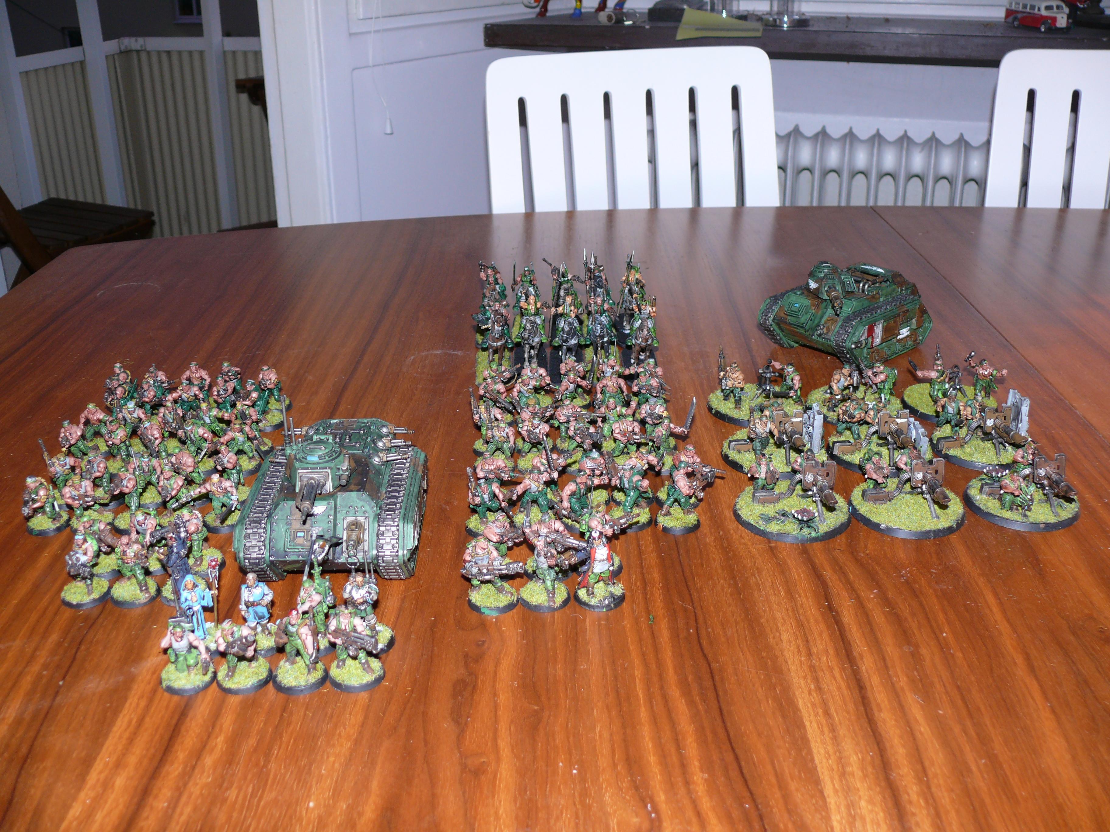 Army, Catachan, Chimera, Guardsmen, Heavy Weapon Team, Hellhound, Imperial Guard, Lascannon, Mortals, Rough Riders