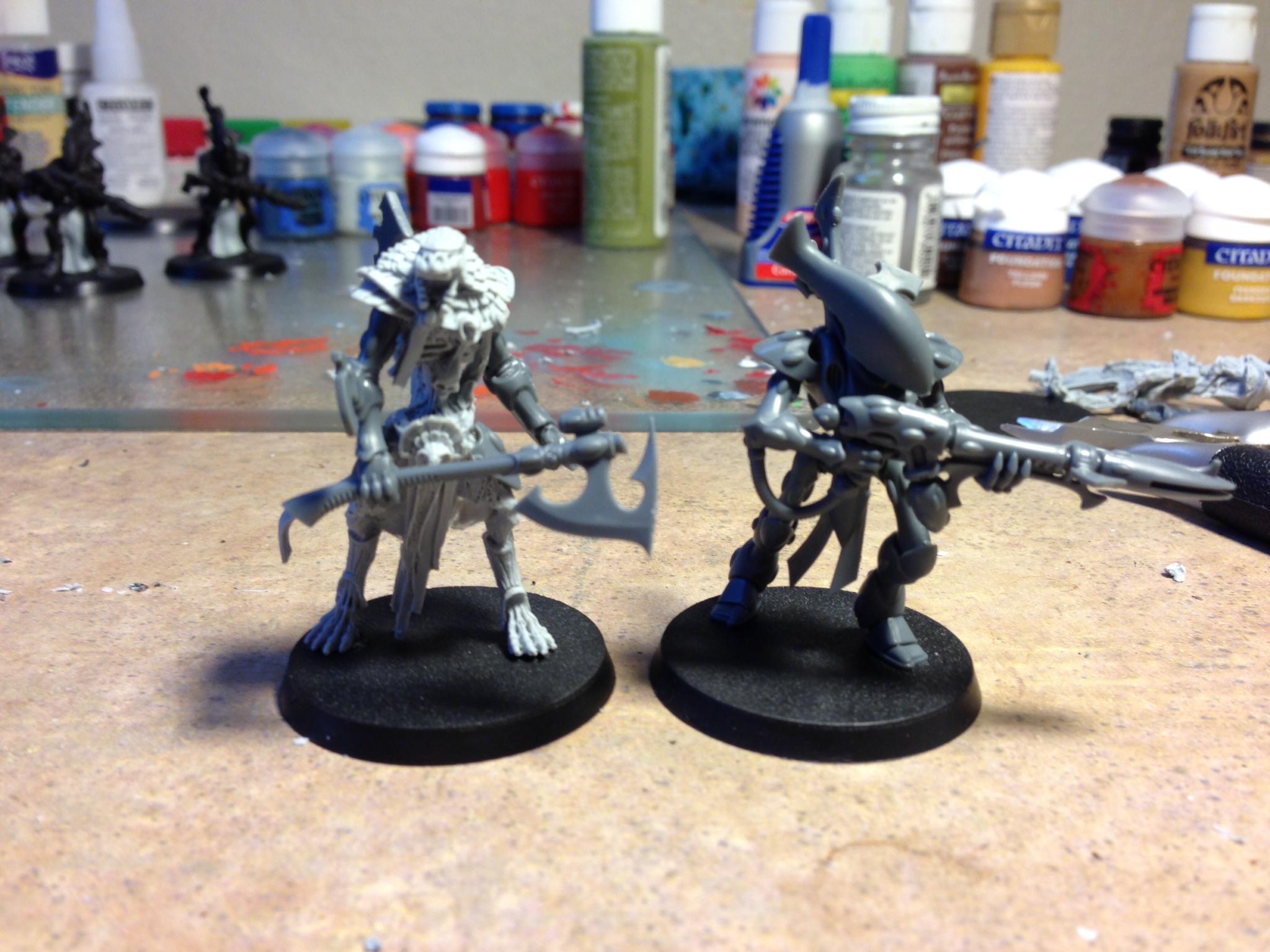 Eldar, Tomb Kings, Wraith, Wraith Blade, Wraithguard