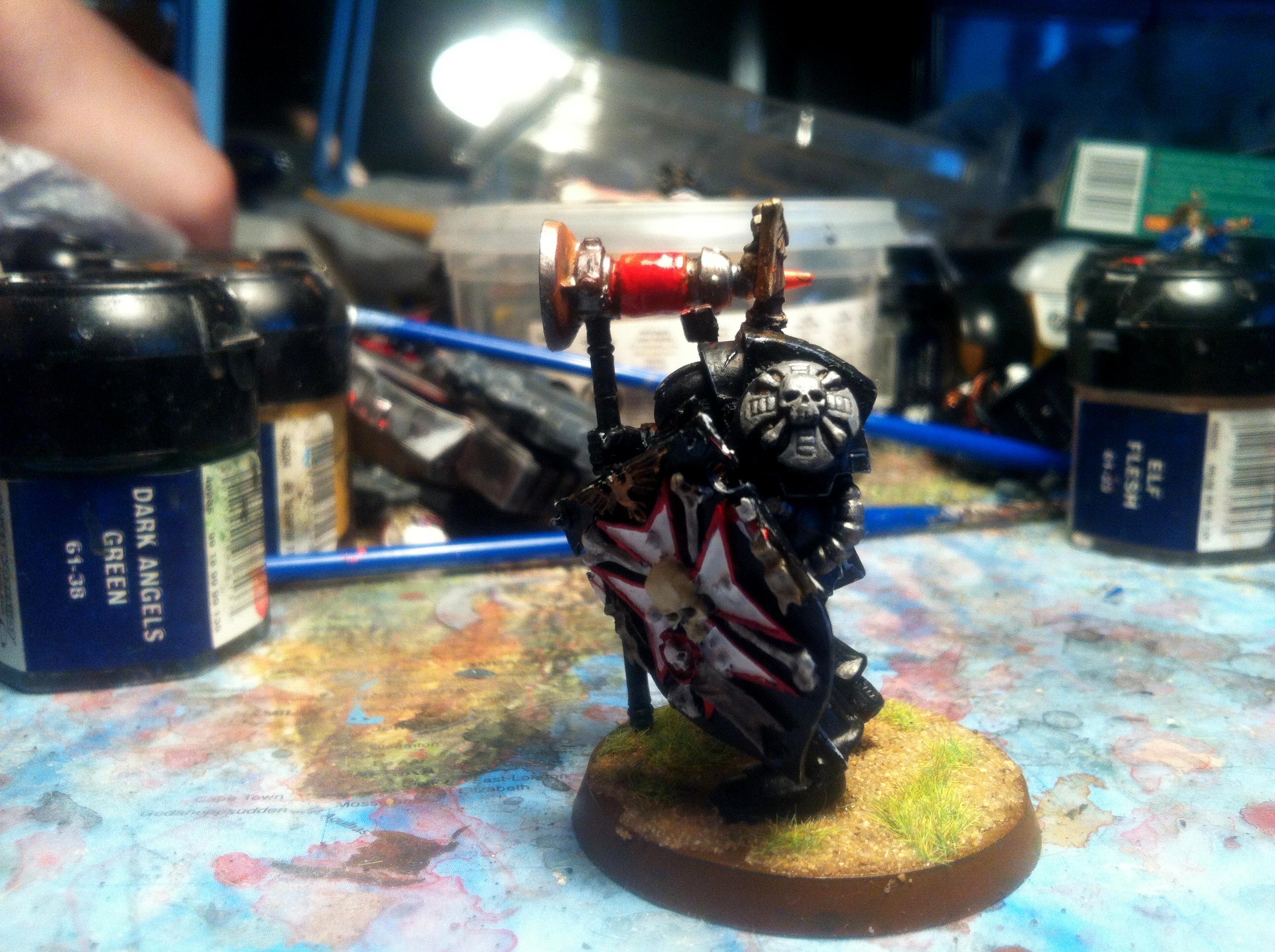 Black Templars, Marshal, Not-lysander, Templar, Templars, Terminator Marshal