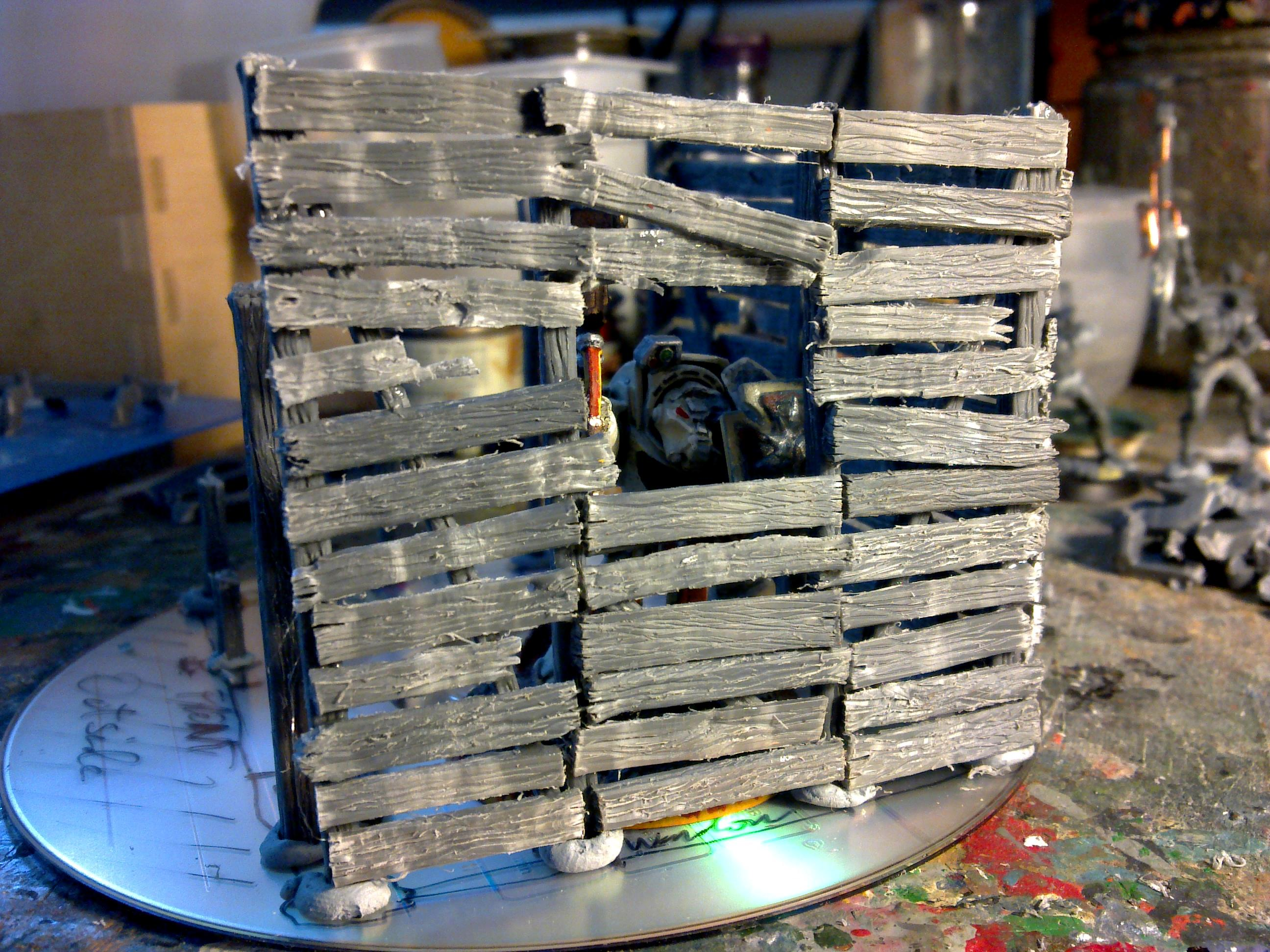 Sprue Hut wall 2