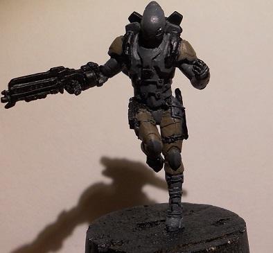 Hellcat with Boarding Shotgun