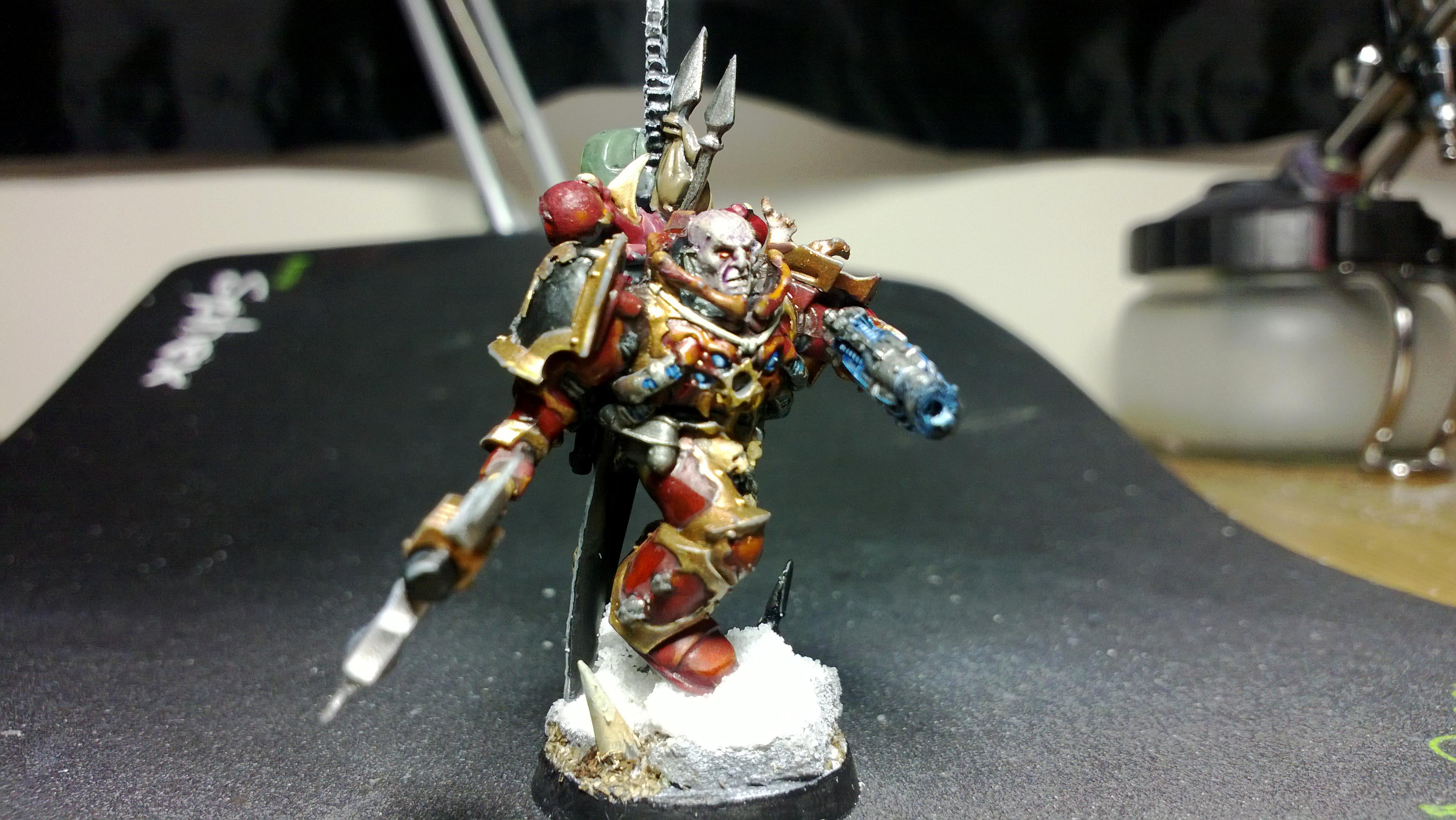 Champion, Chaos Space Marines, Conversion, Heretic Astartes