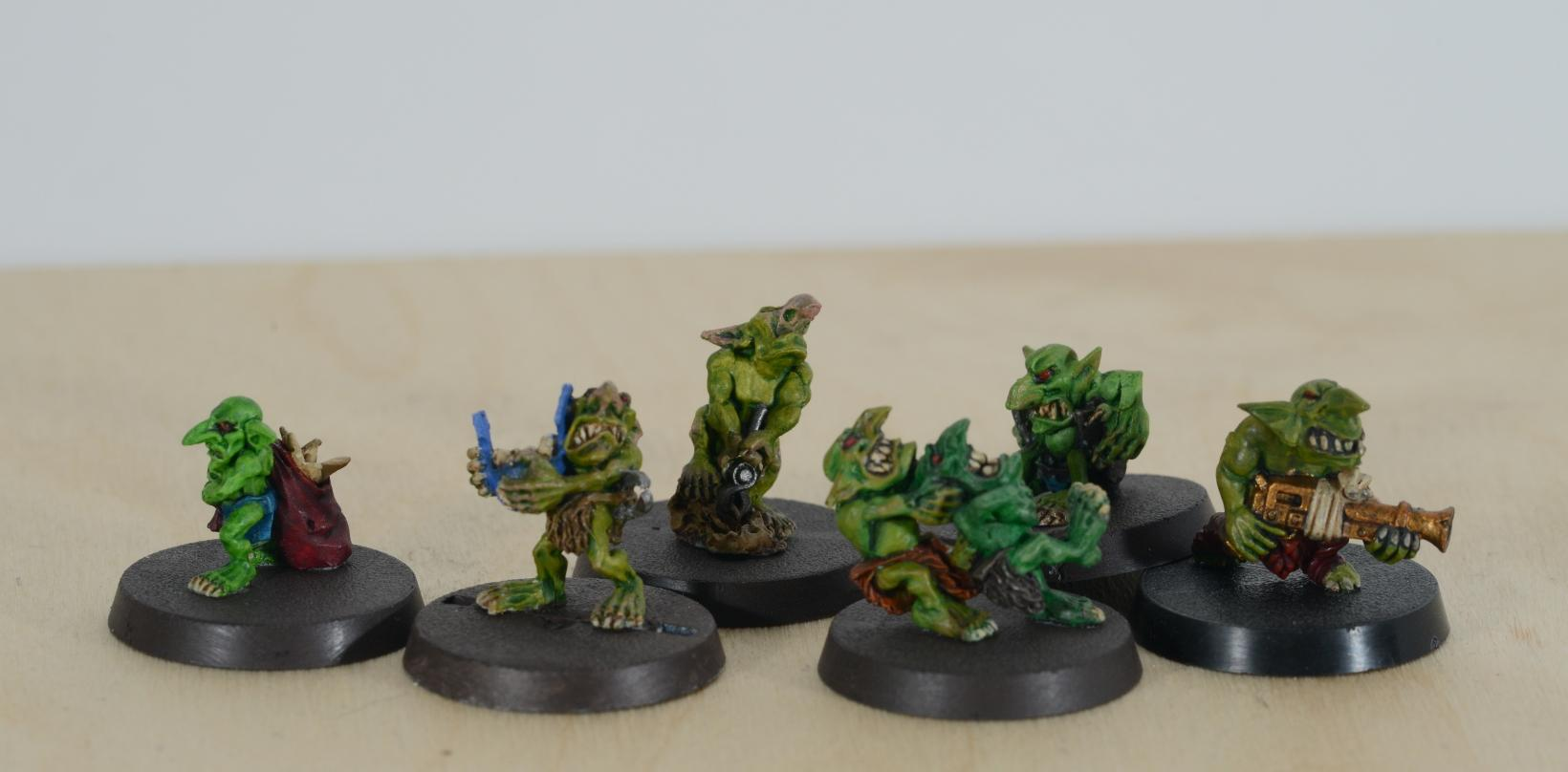 Bits, Grots, Orks, Thieving Grots