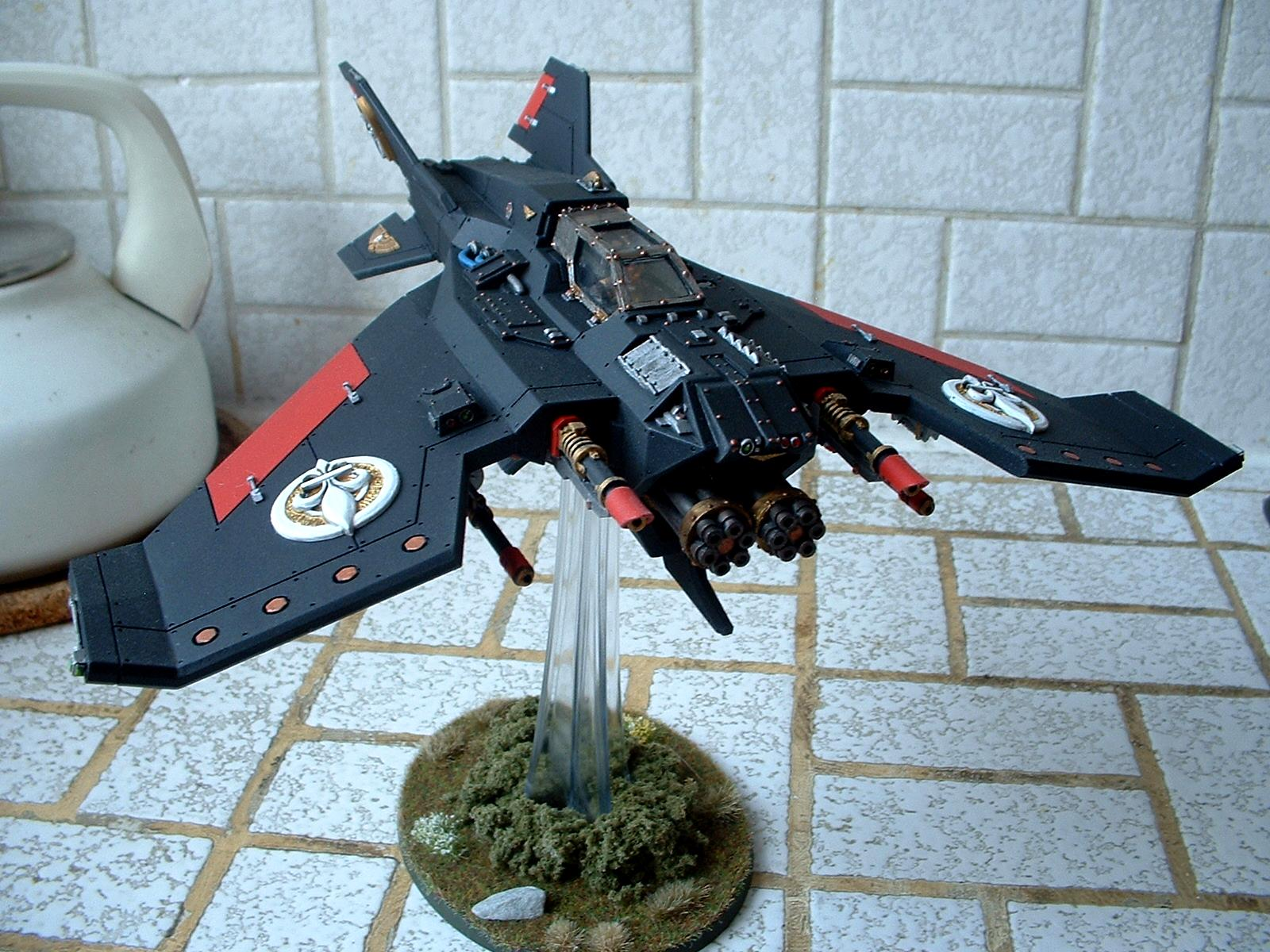 Adepta Sororitas, Avenger Strike Fighter, Flyer, Lightning, Sisters Of Battle, Voss Pattern