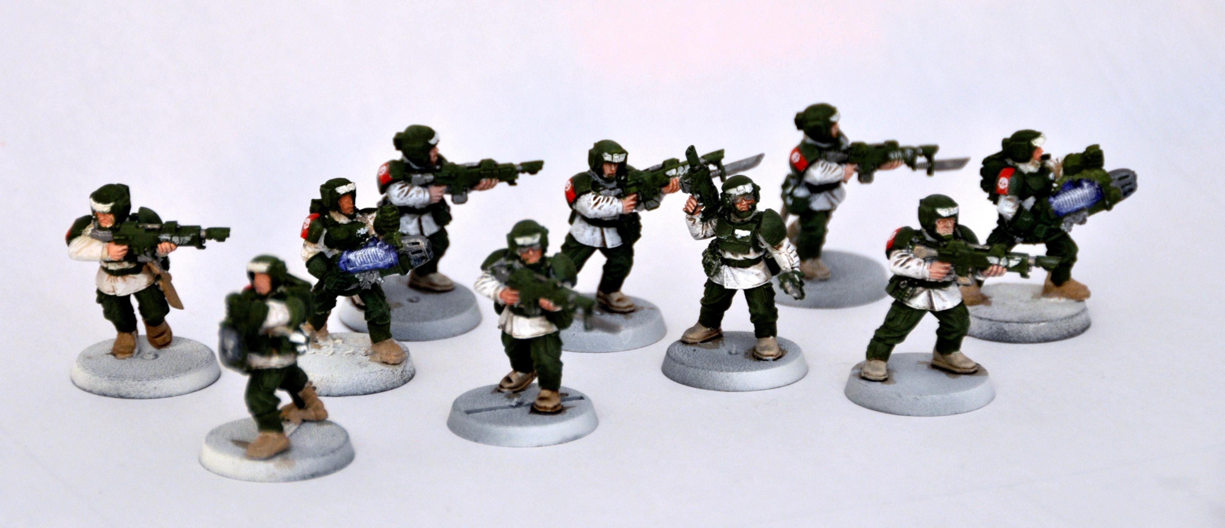 Imperial Guard, Imperiale Armee, Veteran, Winter War