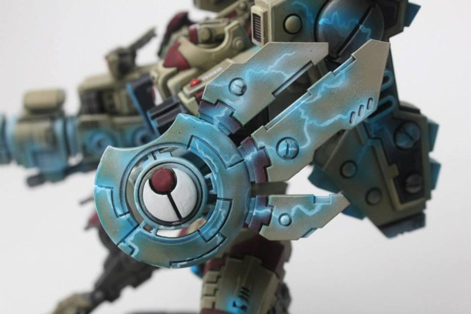 Riptide, Shield, Tau, Warhammer 40,000