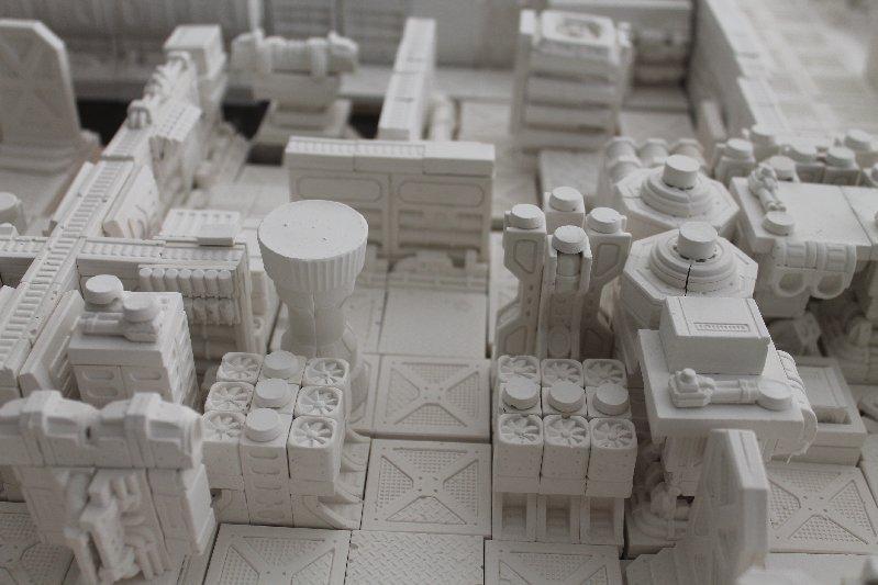 Blocks, Hirst, Hirstarts, Hulk, Spacehulk, Terrain