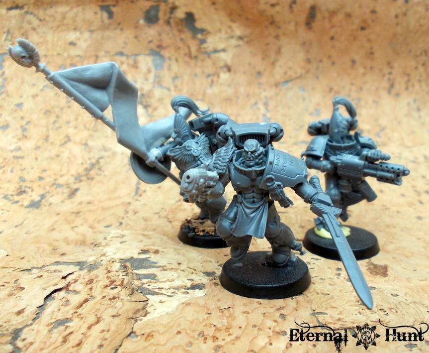 Adeptus Custodes, Conversion, Jump Infantry, Legio Custodes, Pre-heresy, Warhammer 40,000, Work In Progress