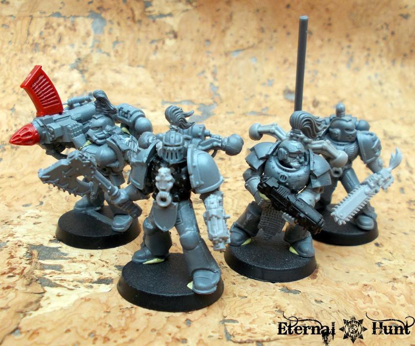 Adeptus Custodes, Conversion, Legio Custodes, Power Armour, Pre-heresy, Warhammer 40,000, Work In Progress