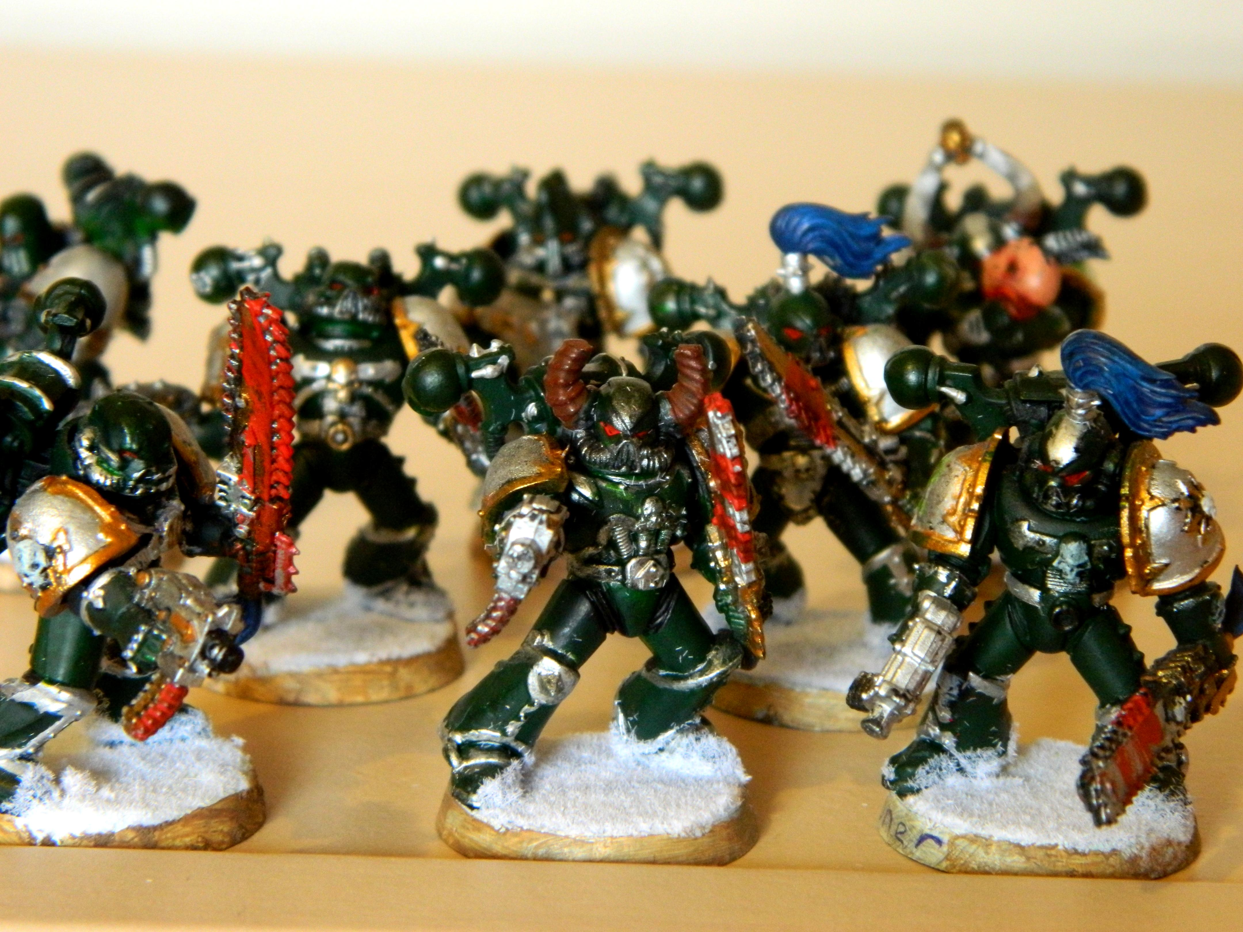 Alpha, Blood, Chaos, Chaos Space Marines, Combat, Conversion, Snow