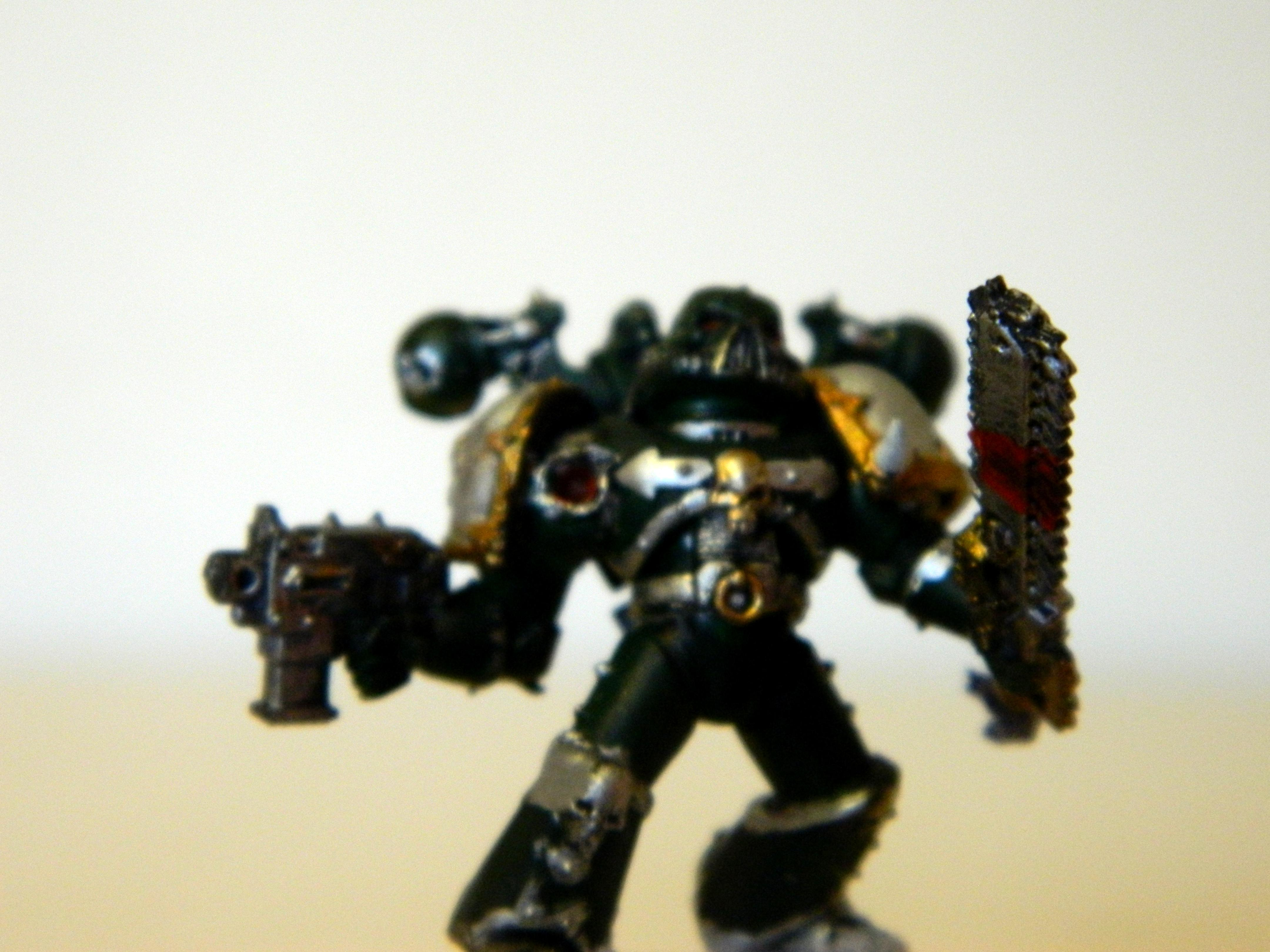 Alpha, Blood, Chaos, Chaos Space Marines, Combat, Conversion, Injury, Snow, Wounded