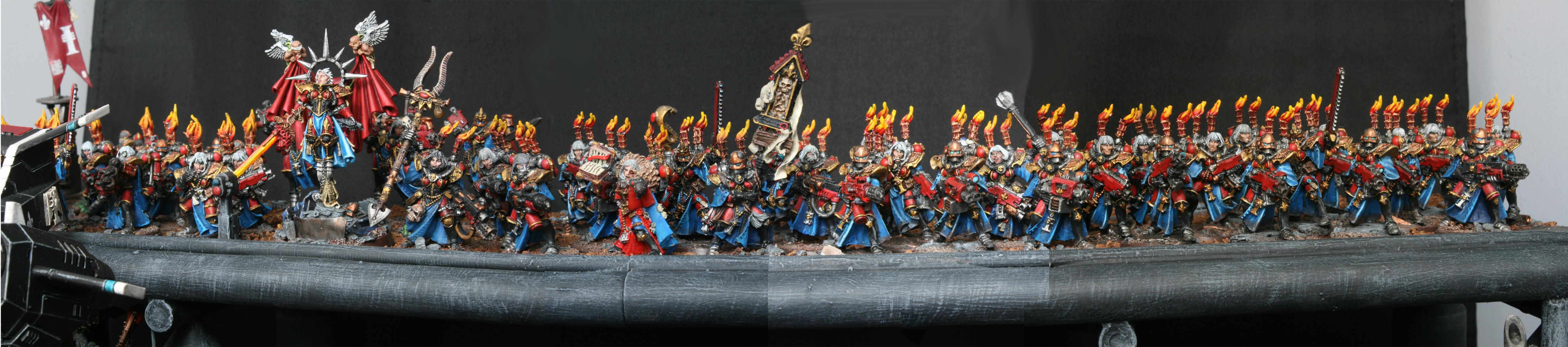 Arkaal, Battle, Bolter, Celestine, Display, Exorcist, Flamer, Hunter, Inquisition, Meltagun, Repressor, Rhino, Sister, Storm, Talon, Tray, Witch