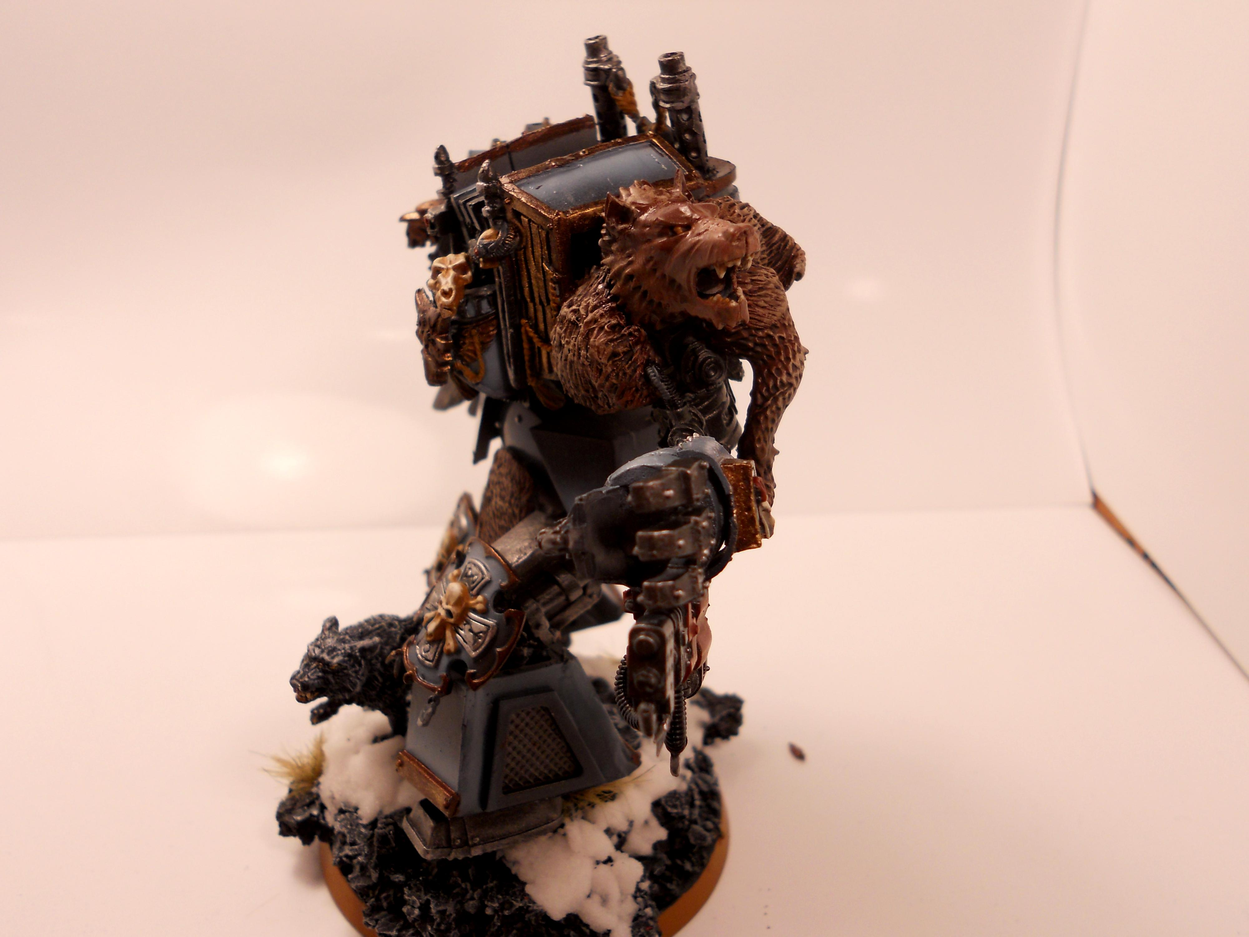 Bjorn, Dreadnought, Imperium, Space Marines, Space Wolves, Sw, Warhammer 40,000