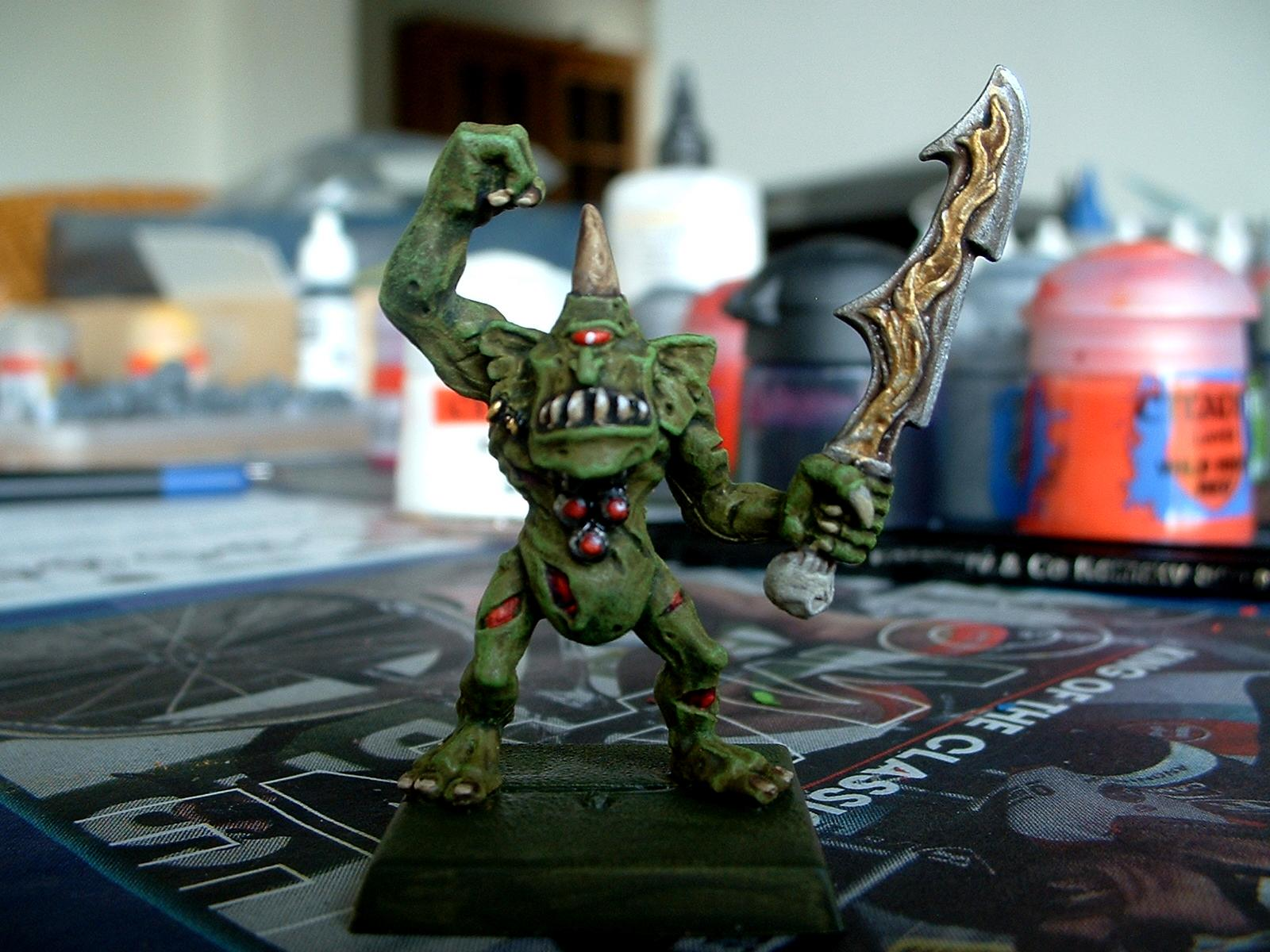 Chaos, Daemons, Nurgle, Plaguebearers, Work In Progress