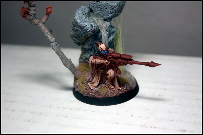 Blood Angels, Eldar, Farseer, Portal, Rangers, Uldonethi Long Rifle