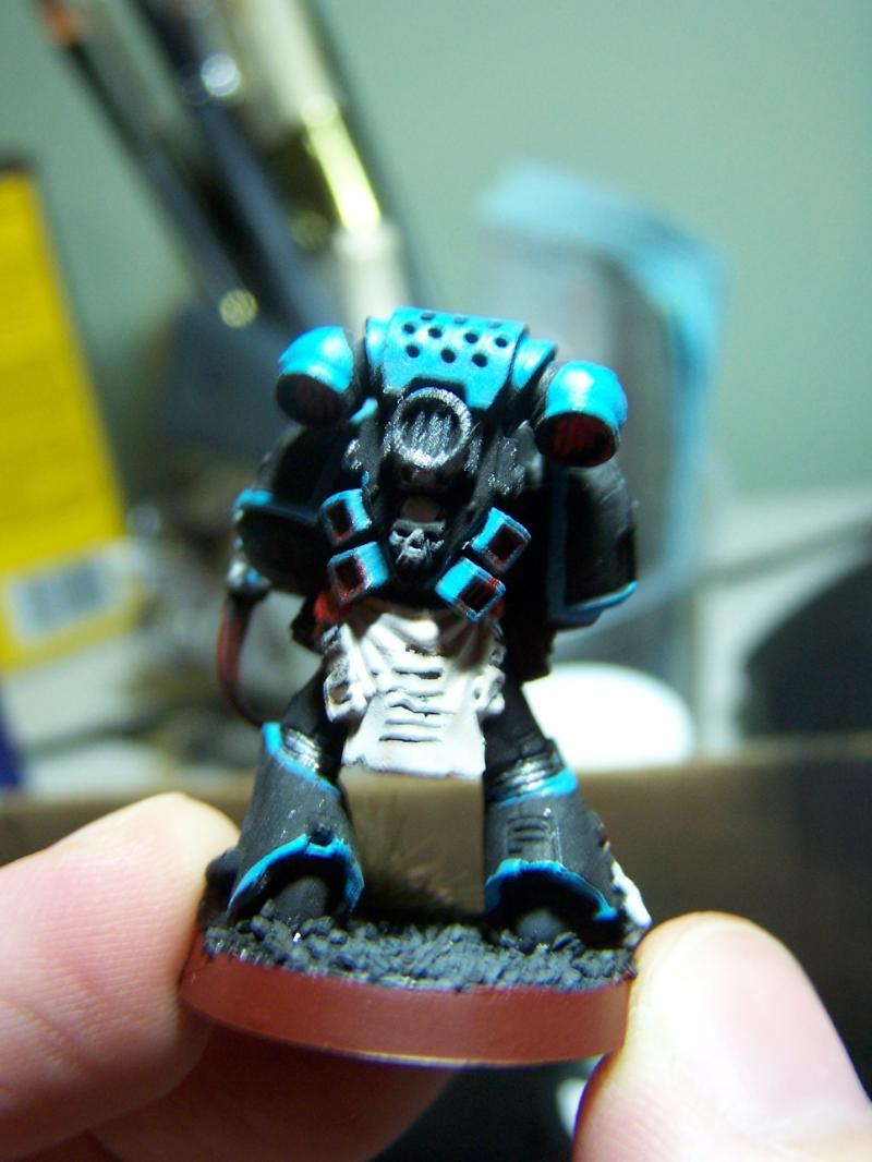 Back view of my space marines