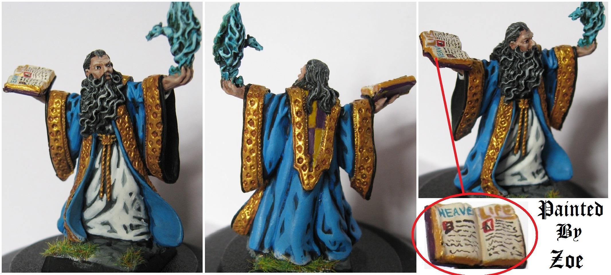 Reaper Miniatures, Warhammer Fantasy, Wizard
