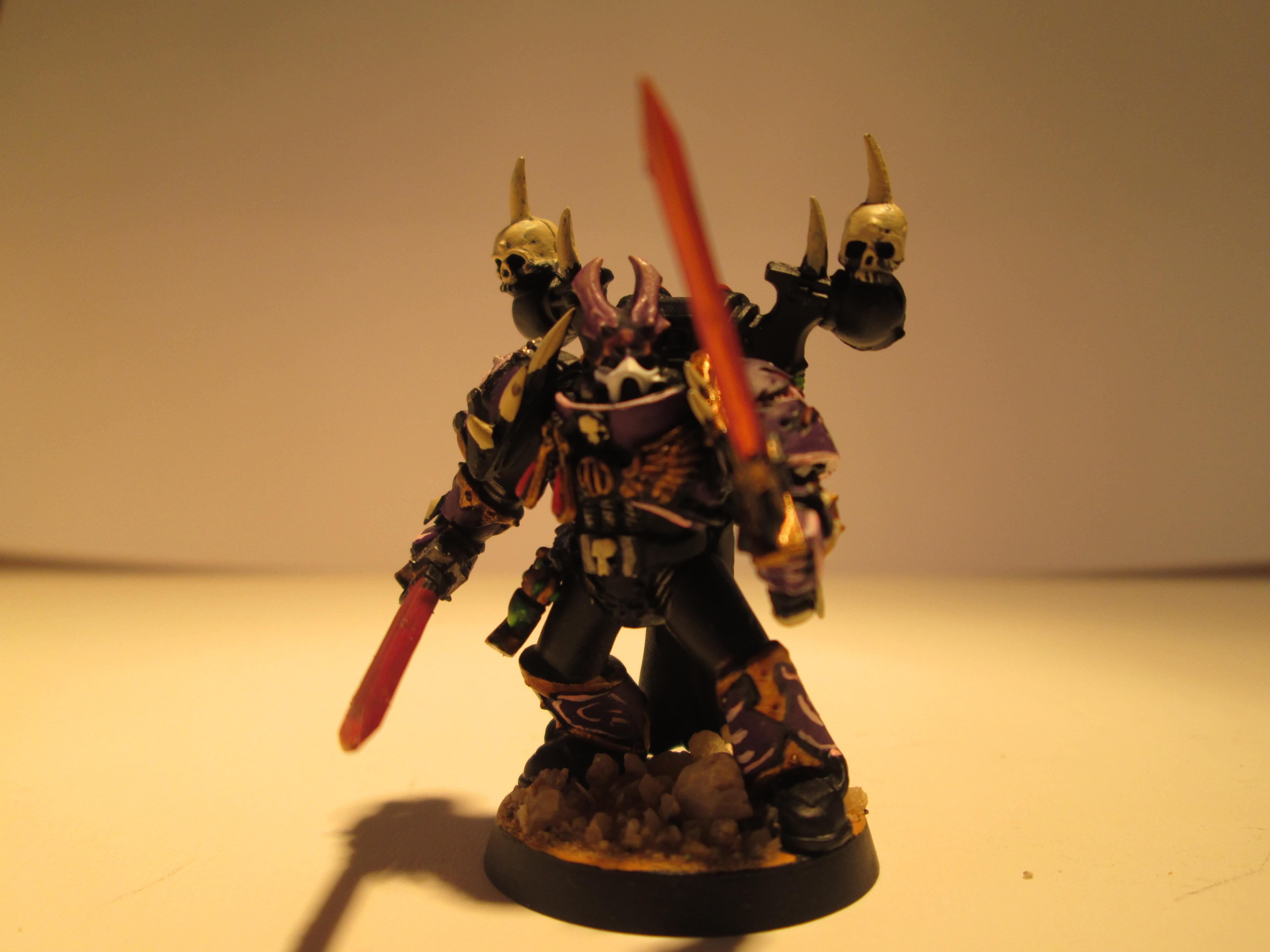 Champion, Chaos Space Marines, Emperor's Children, Mark Of Slaanesh, Noise Marines, Slaanesh