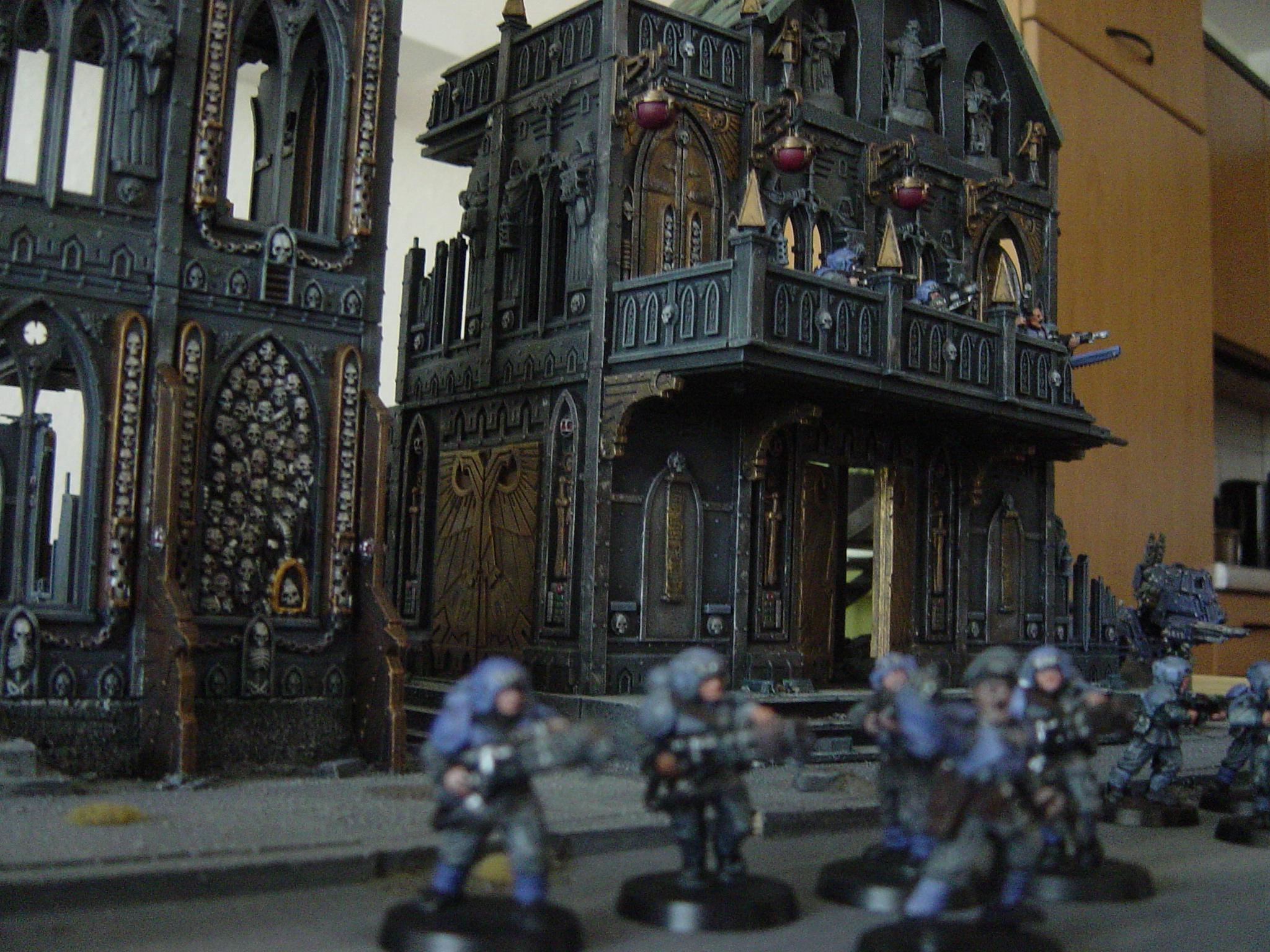 Cities Of Death, Corynthal, Imperial Guard, Street Fight