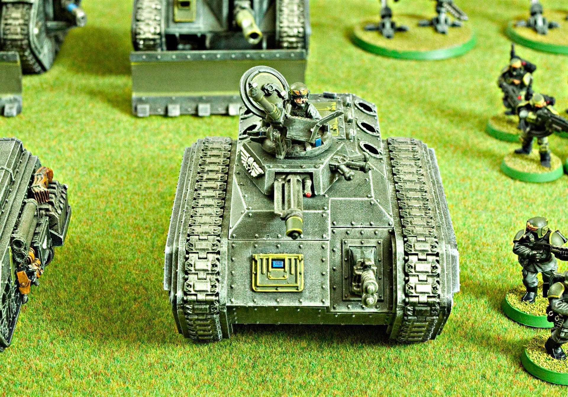 Chimera, Guard, Guardsmen, Heavy Flamer, Heavy Stubber, Imperial, Imperial Guard, Multi-laser, Warhammer 40,000