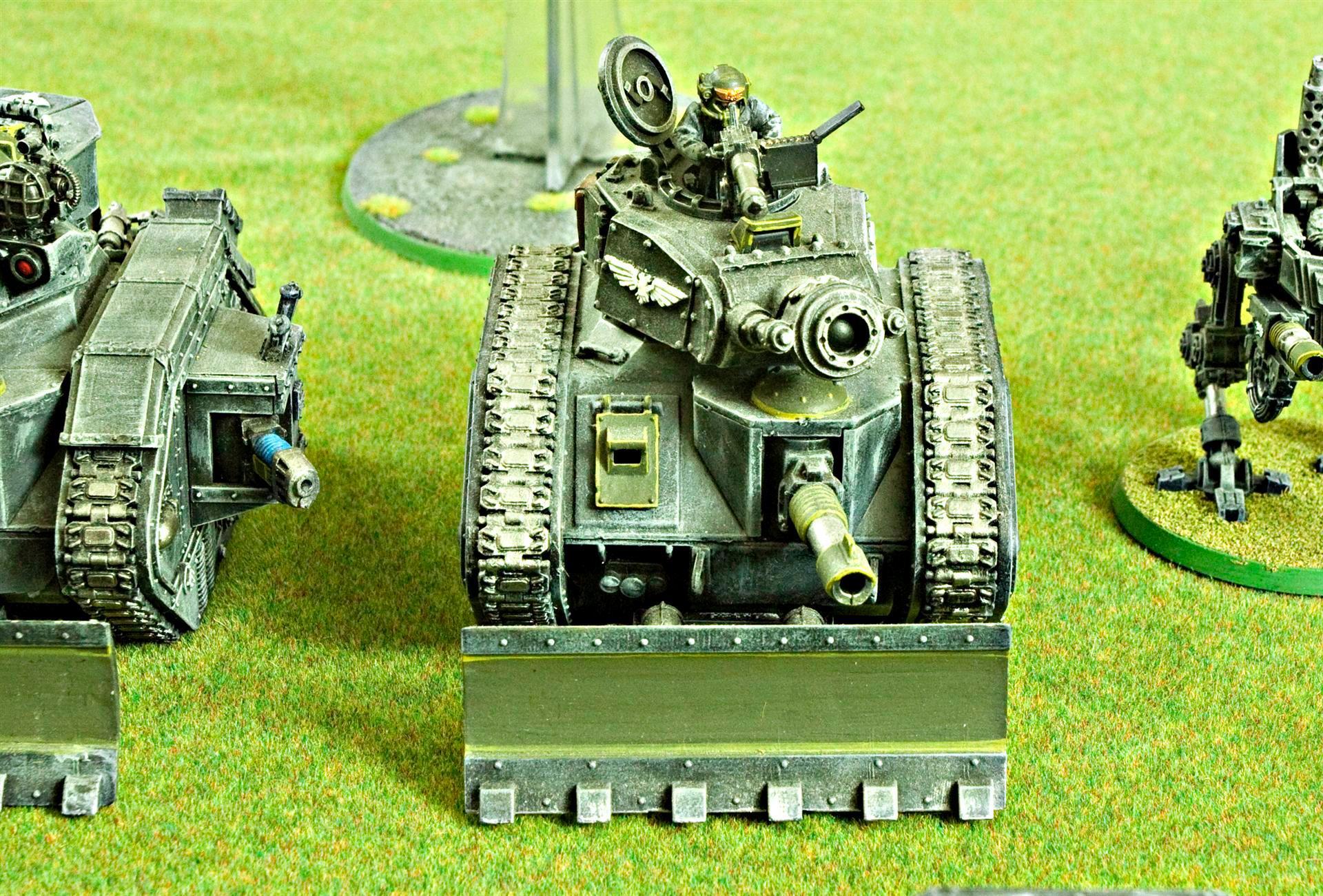 Astra Militarum, Demolisher, Guard, Heavy Stubber, Imperial, Imperial Guard, Leman Russ, Plasma Cannon, Warhammer 40,000