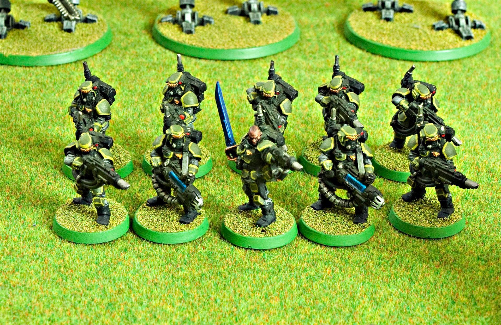 Astra Militarum, Guard, Imperial, Imperial Guard, Plasma Gun, Storm Troopers, Warhammer 40,000