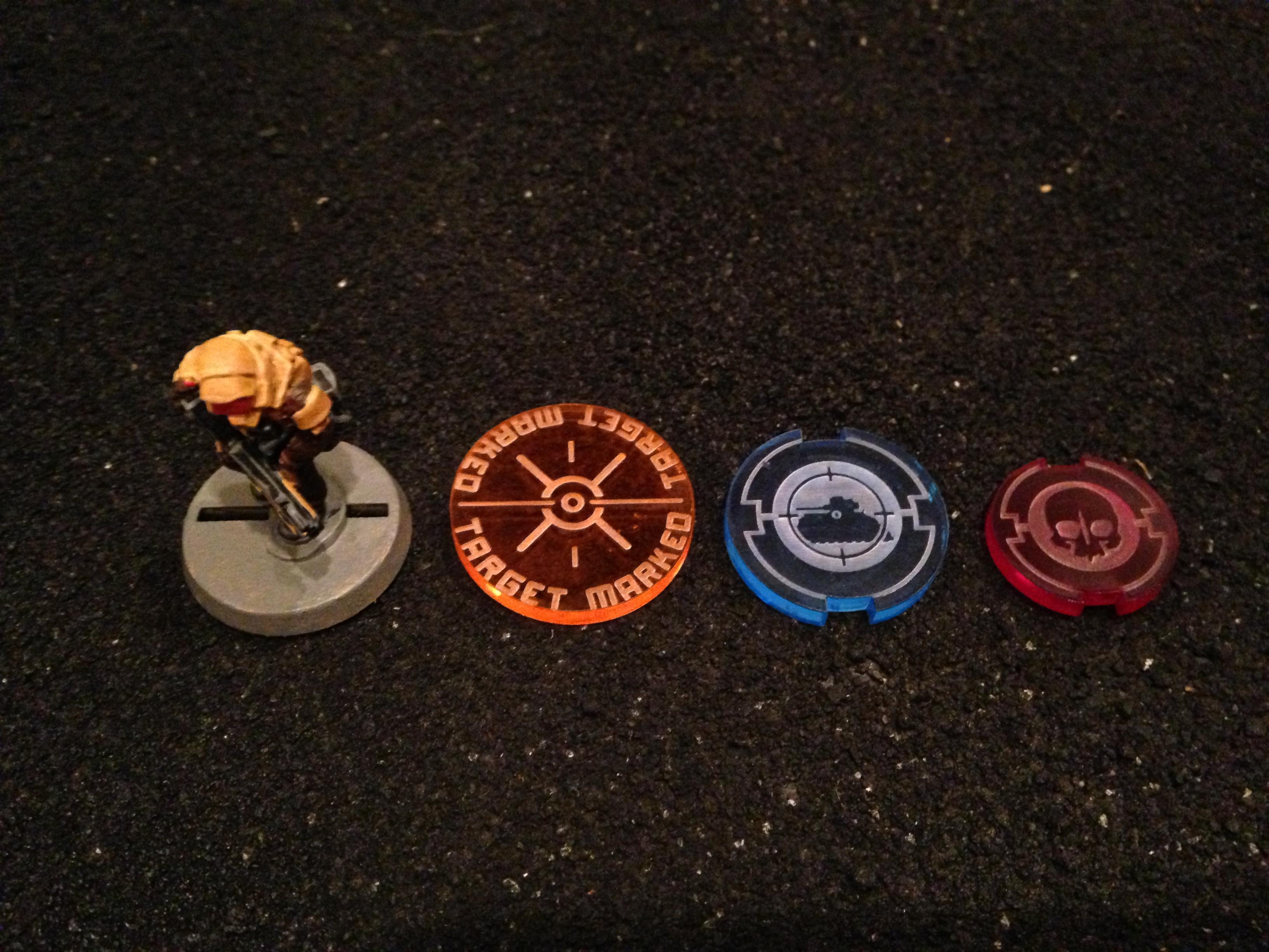 Counters, Genius Factory, Space Federation, Tokens