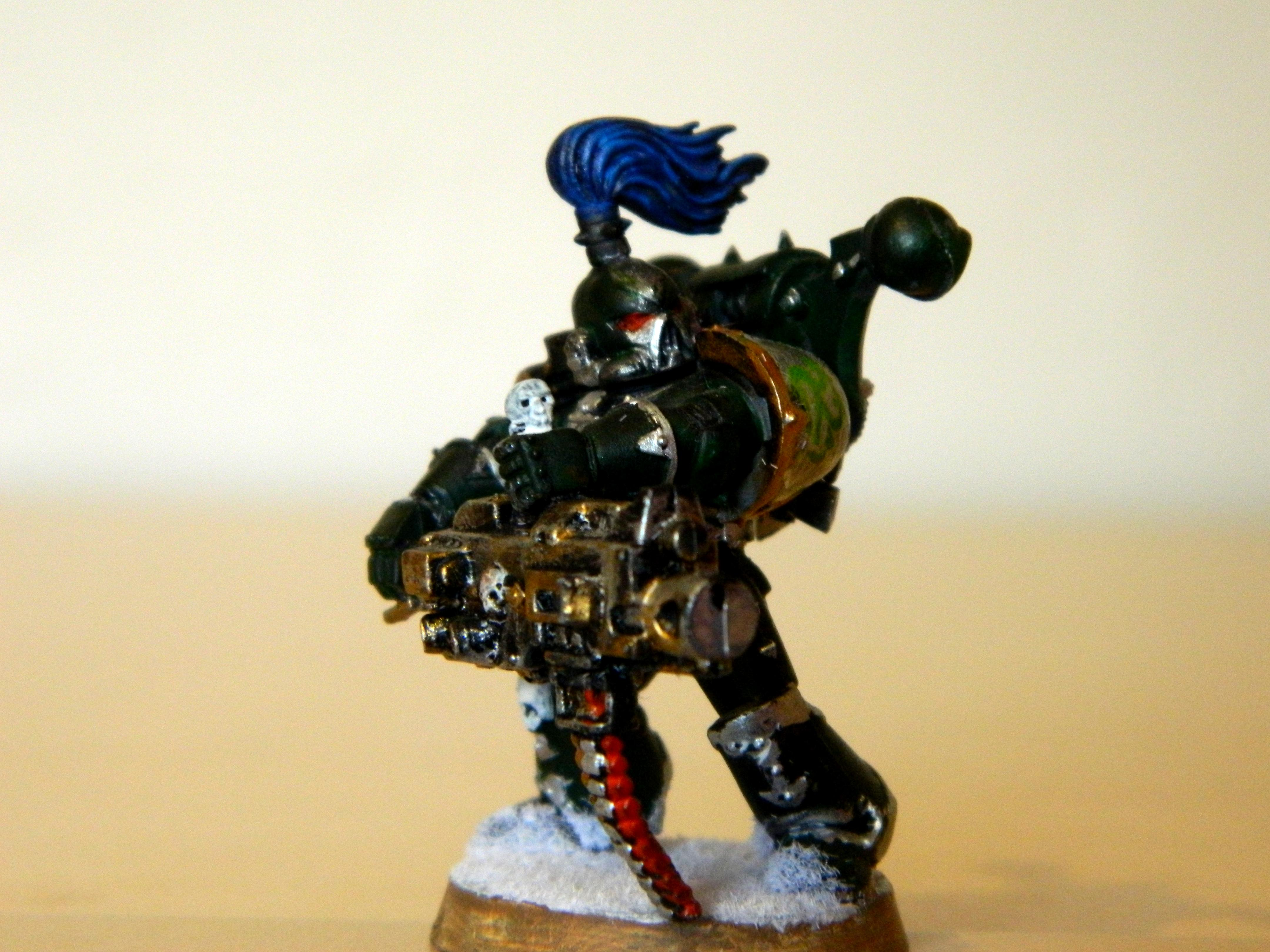 Alpha, Chaos Space Marines, Conversion, Dakka Dakka, Heavy, Snow, Specialist, Squad