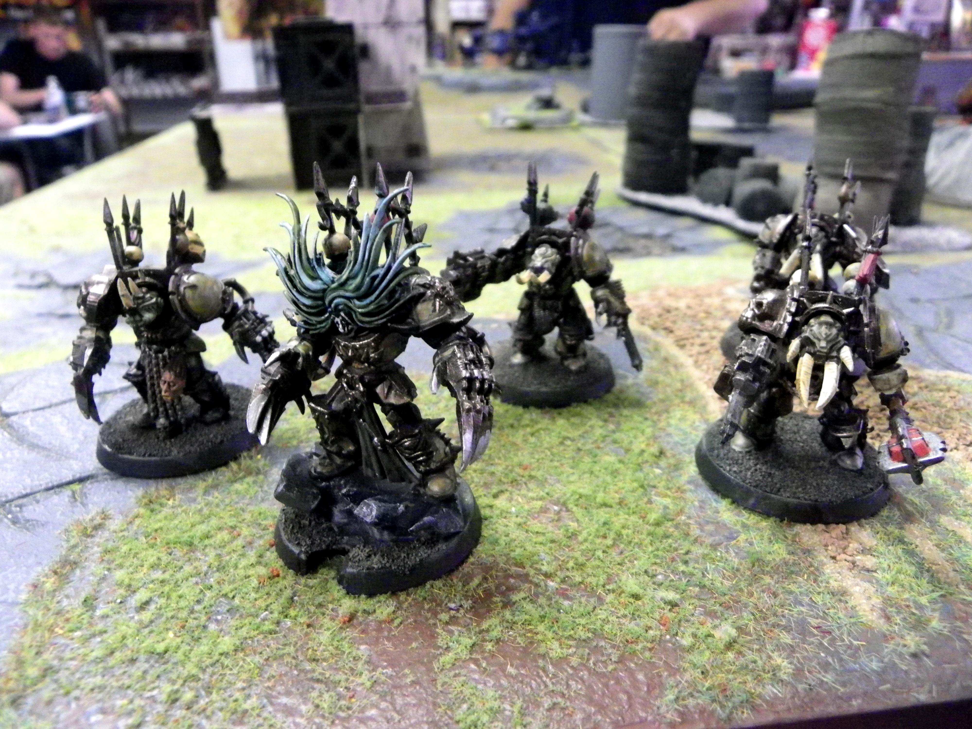 Chaos, Nurgle, Terminator Armor