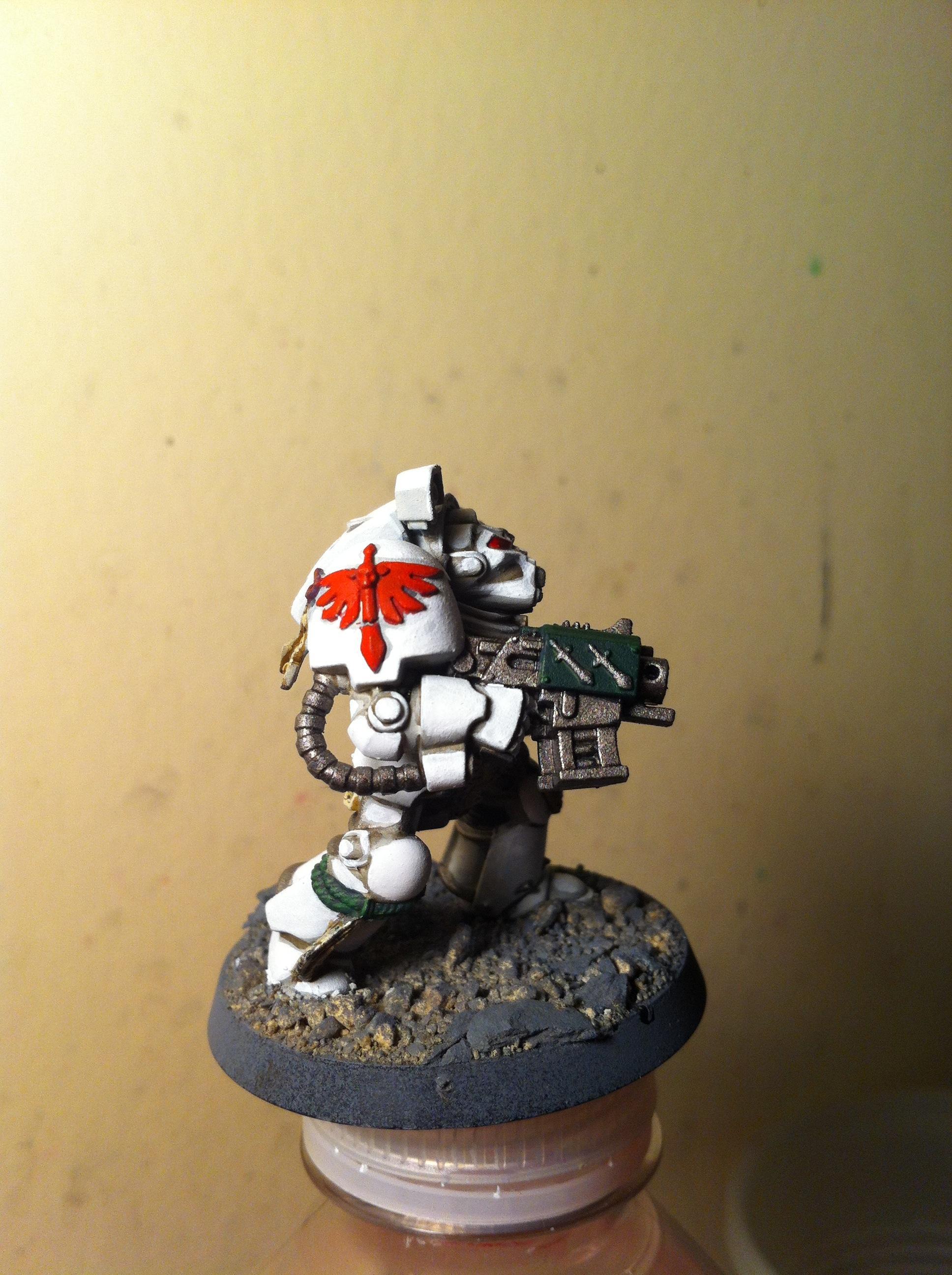 Dark Angels, Deathwing, Terminator Armor, White