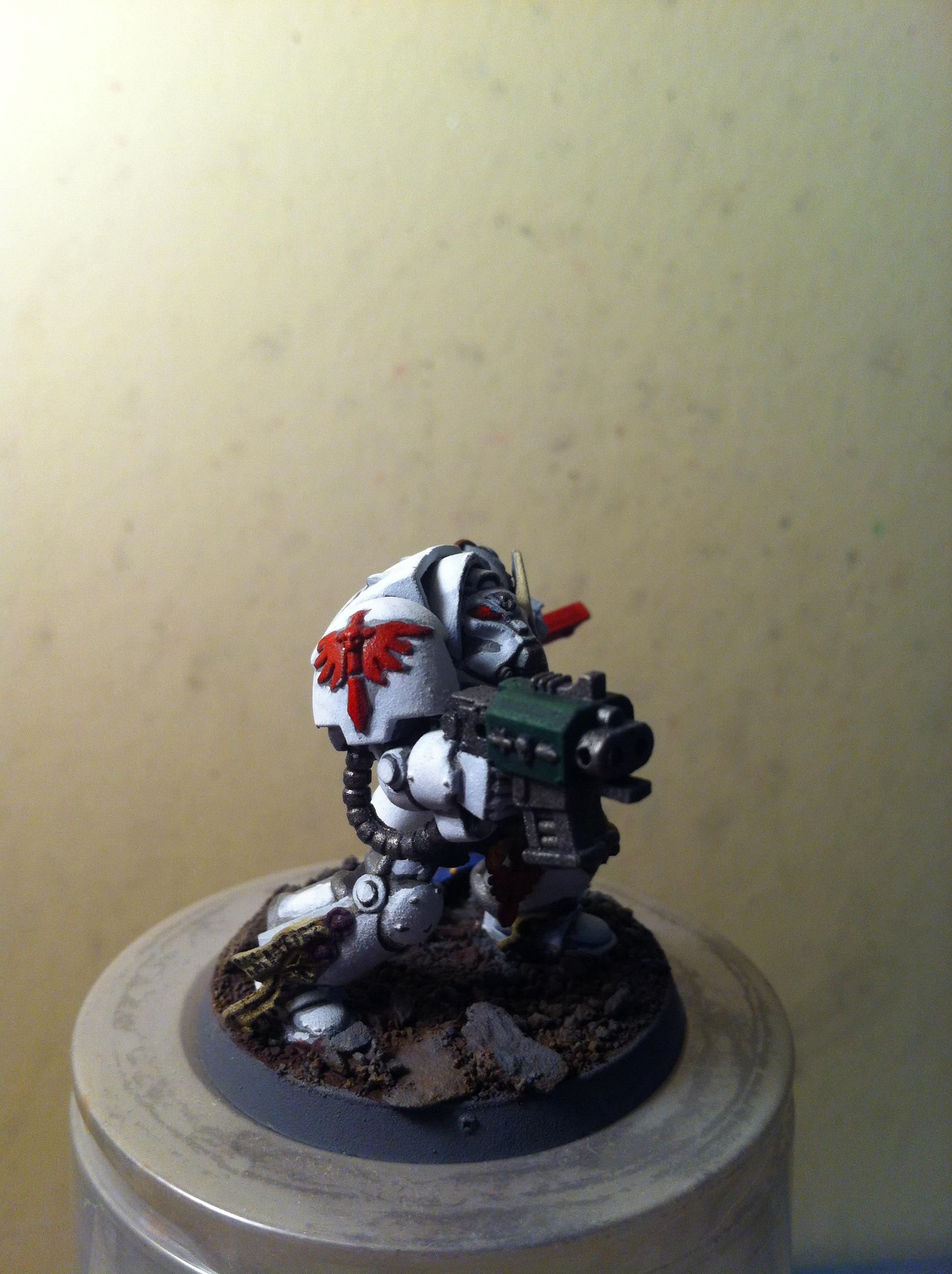 Dark Angels, Deathwing, Terminator Armor, White