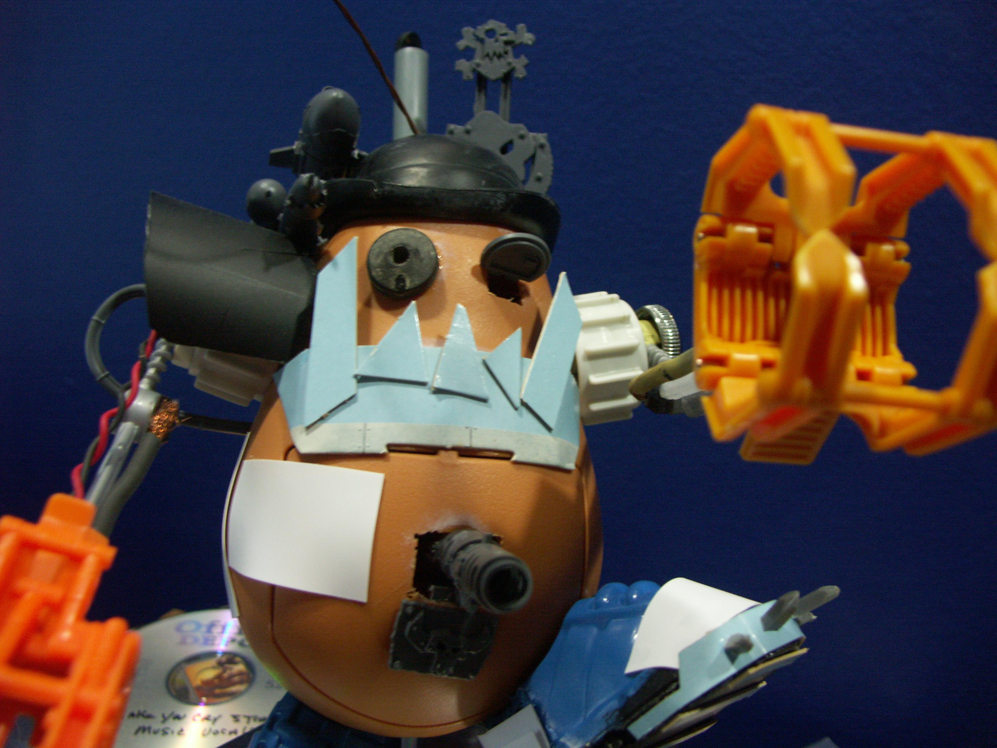 Orks, Scratch Build, Stompa, Tater Titan, Work In Progress