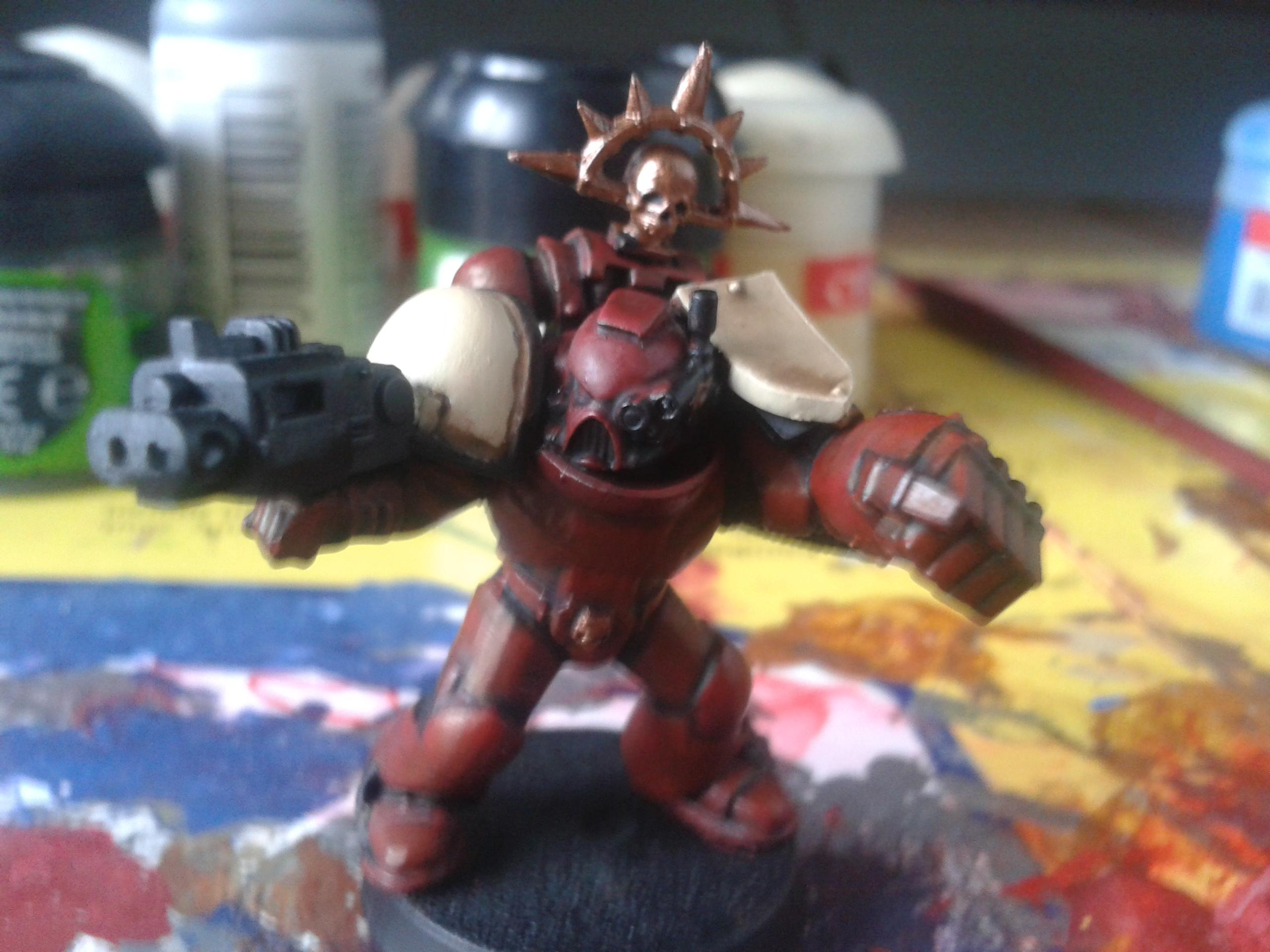 Captain, Chapter Master, Conversion, Pedro Kantor, Power Fist, Scratch Build, Work In Progress