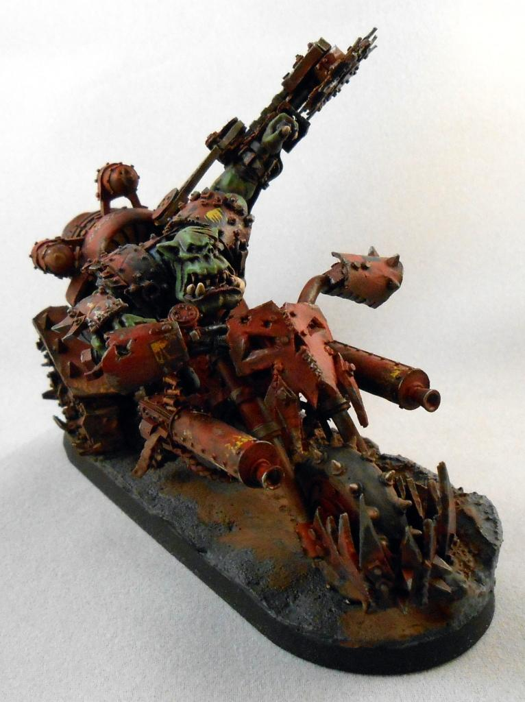 Bike, Biker Boss, Boss, Forge World, Forge Wrold, Ork Boss, Orks, Warbiker, Warboss, Zhadsnark Da Rippa