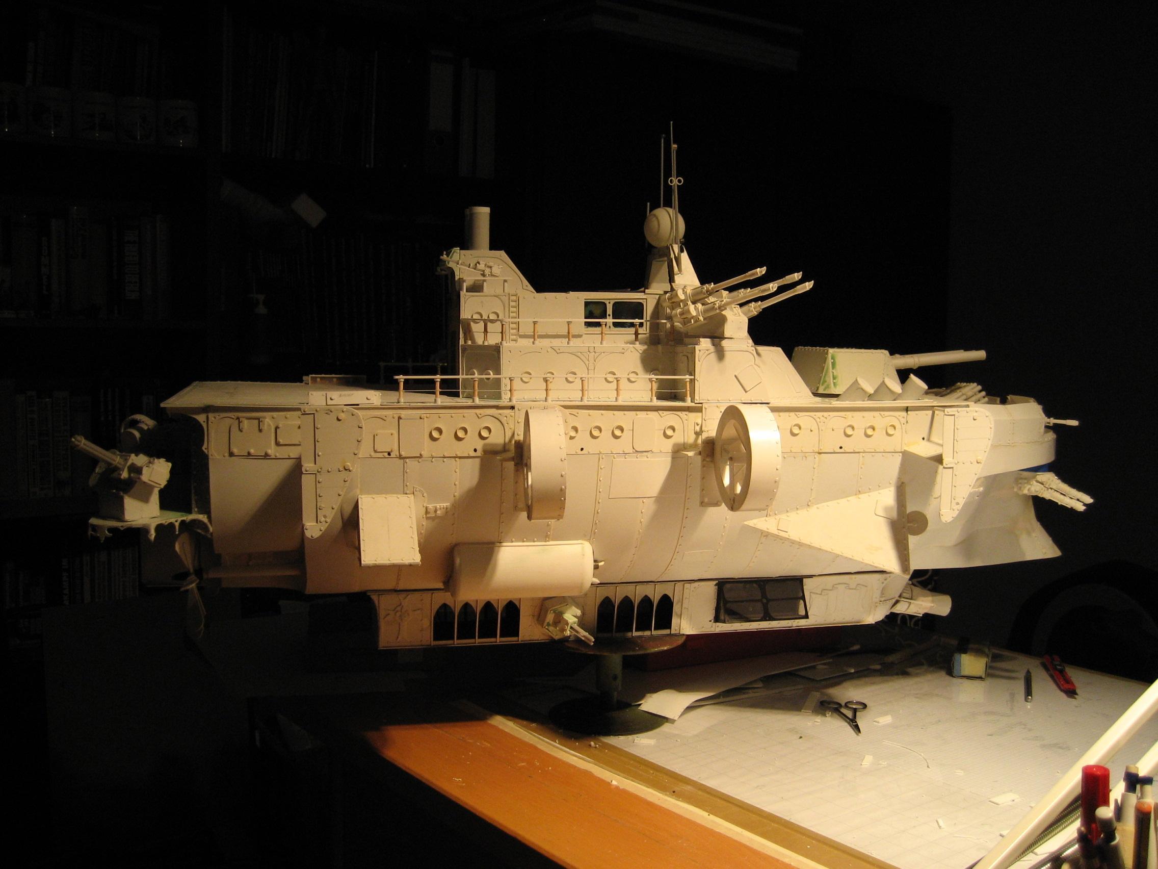 Airship, Scratch Build, Work In Progress