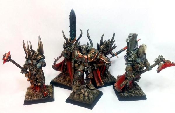 Chaos Lord, Retinue, Warriors Of Chaos