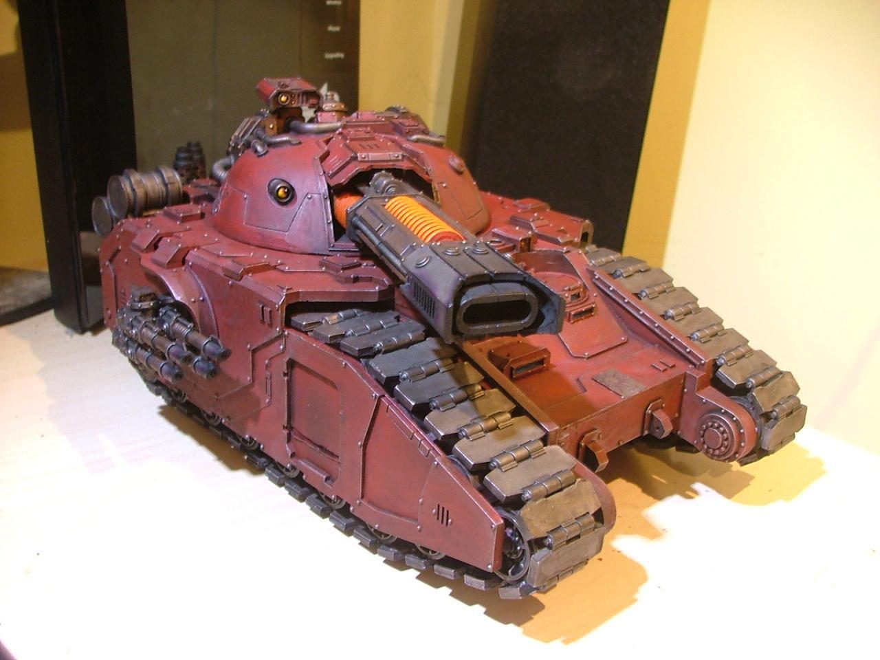 Glaive, Super-heavy, Tank, Volkite