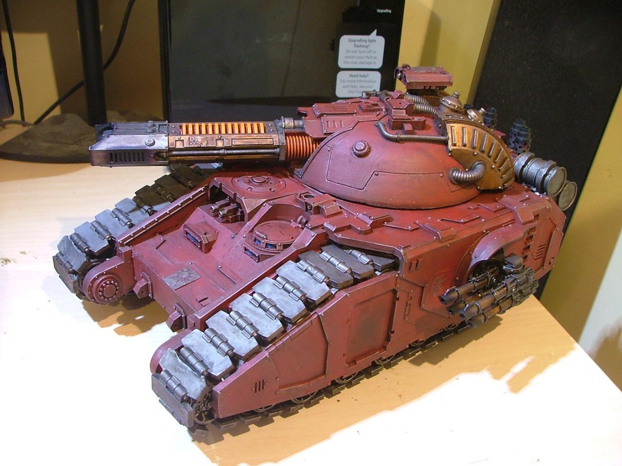 Forge World, Glaive, Super-heavy, Tank, Volkite