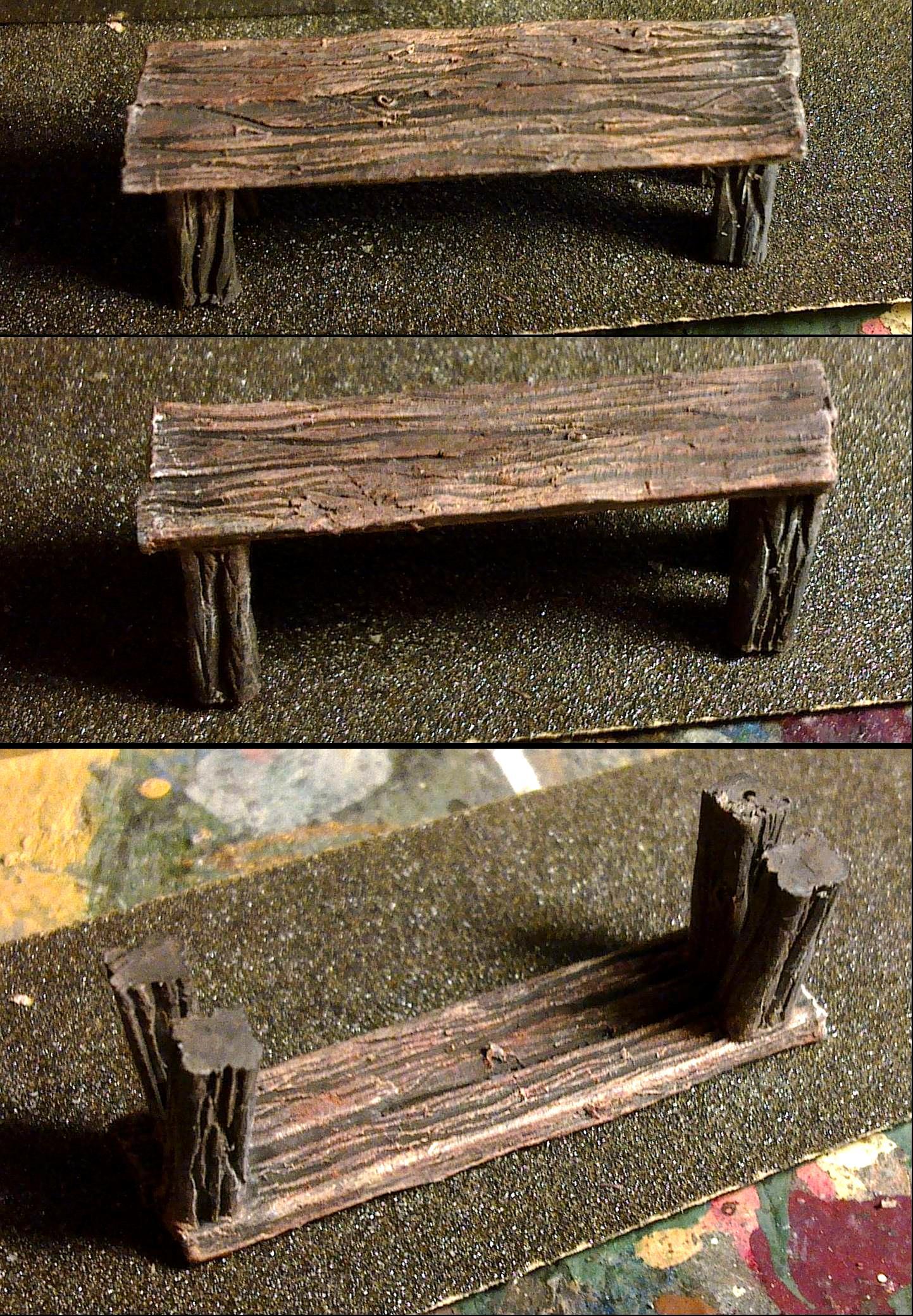 Sprue, Wood, Wood Grain Effect
