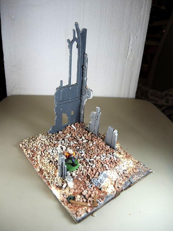 Administratum, Cities Of Death, Ruin, Terrain, Urban