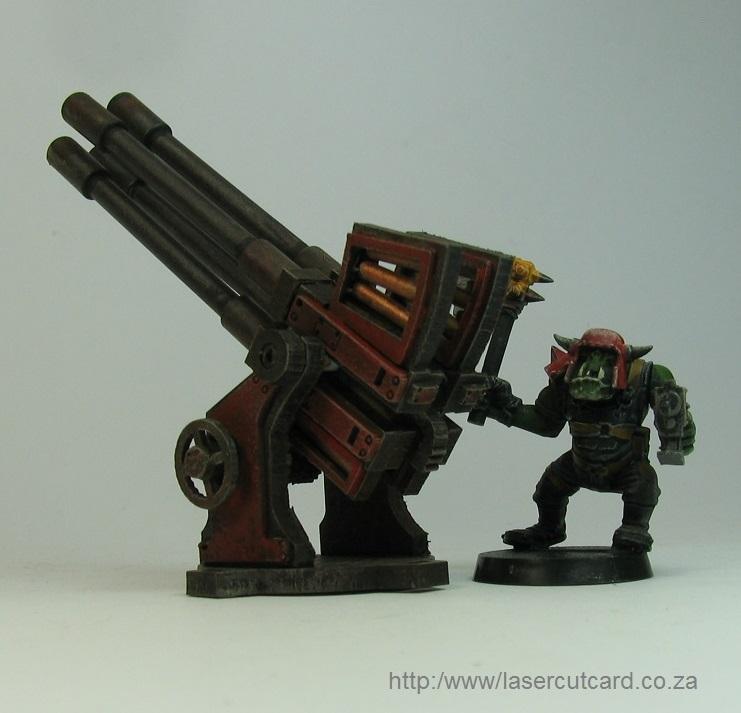 Quad gun