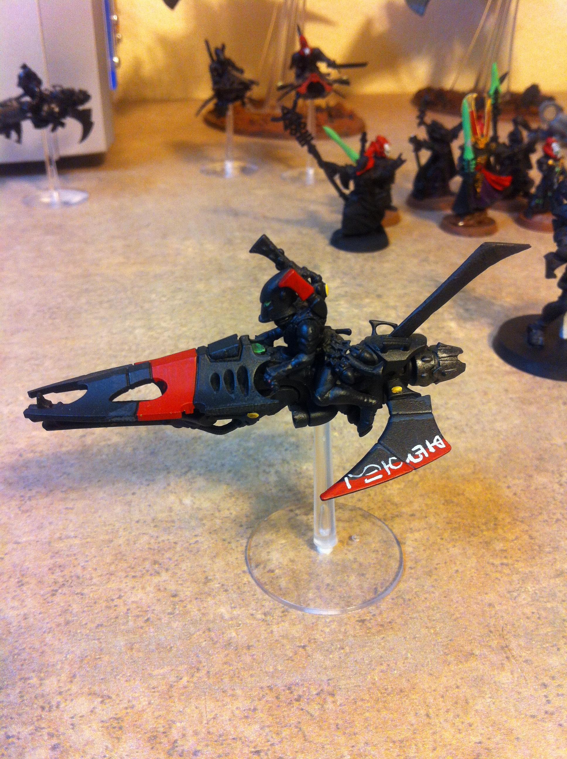 Eldar, Jetbike, Kit Bash, Void Dragon, Work In Progress
