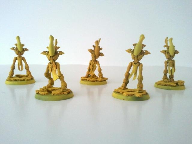 After Daemonic Yellow Primer, a wash of Seraphim Sepia