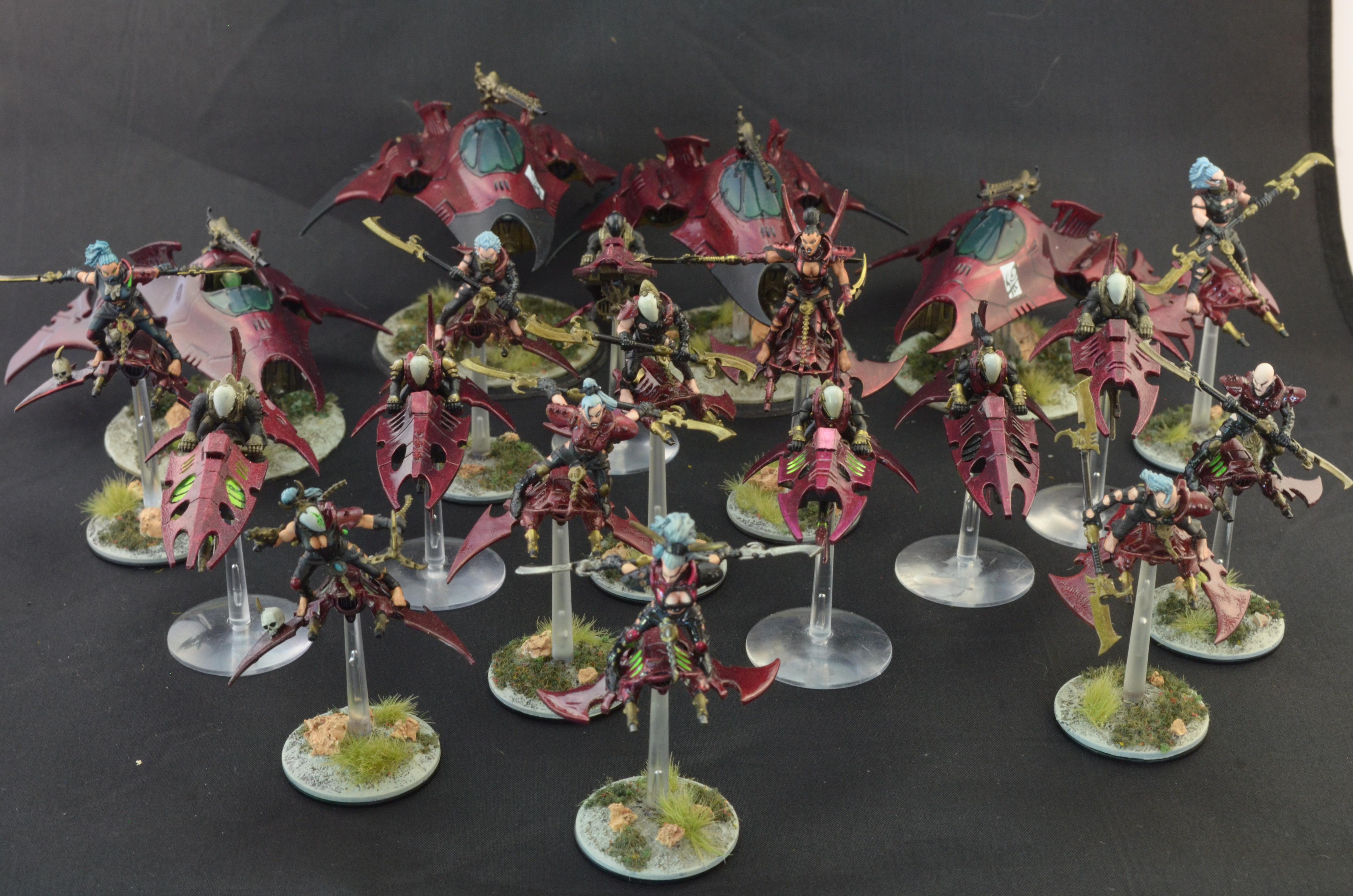 Army, Dark Eldar, Jetbike, Warhammer 40,000