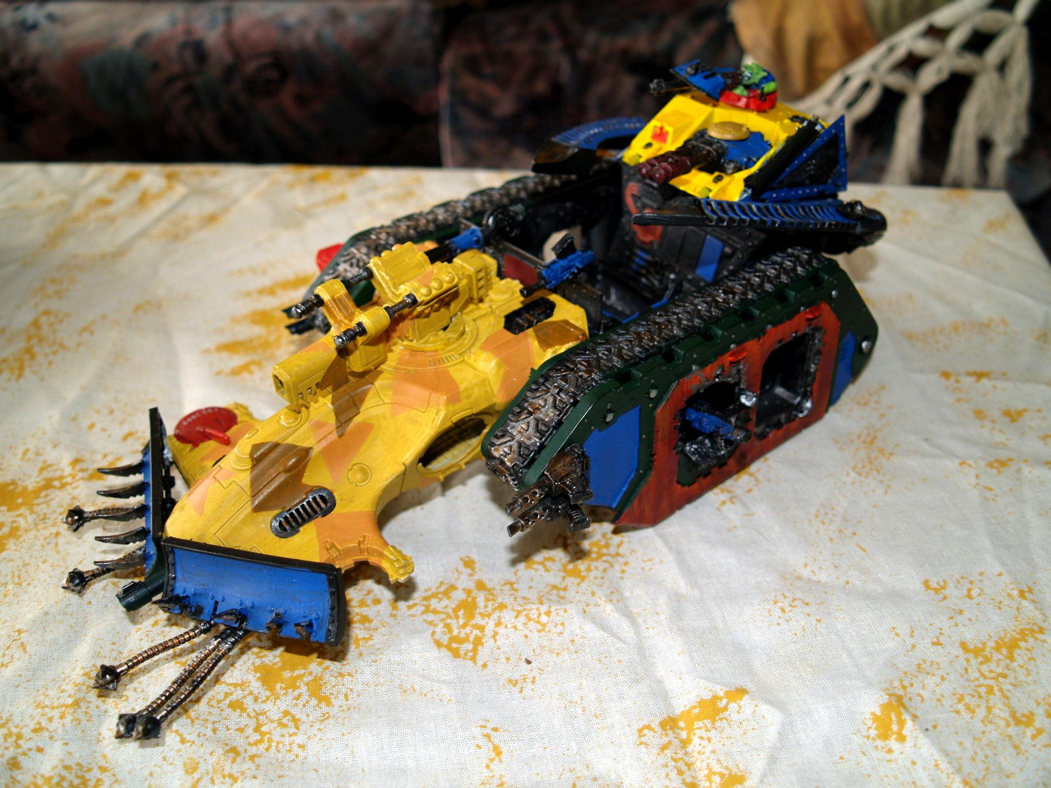 Battlewagon, Conversion, Orks, Tau